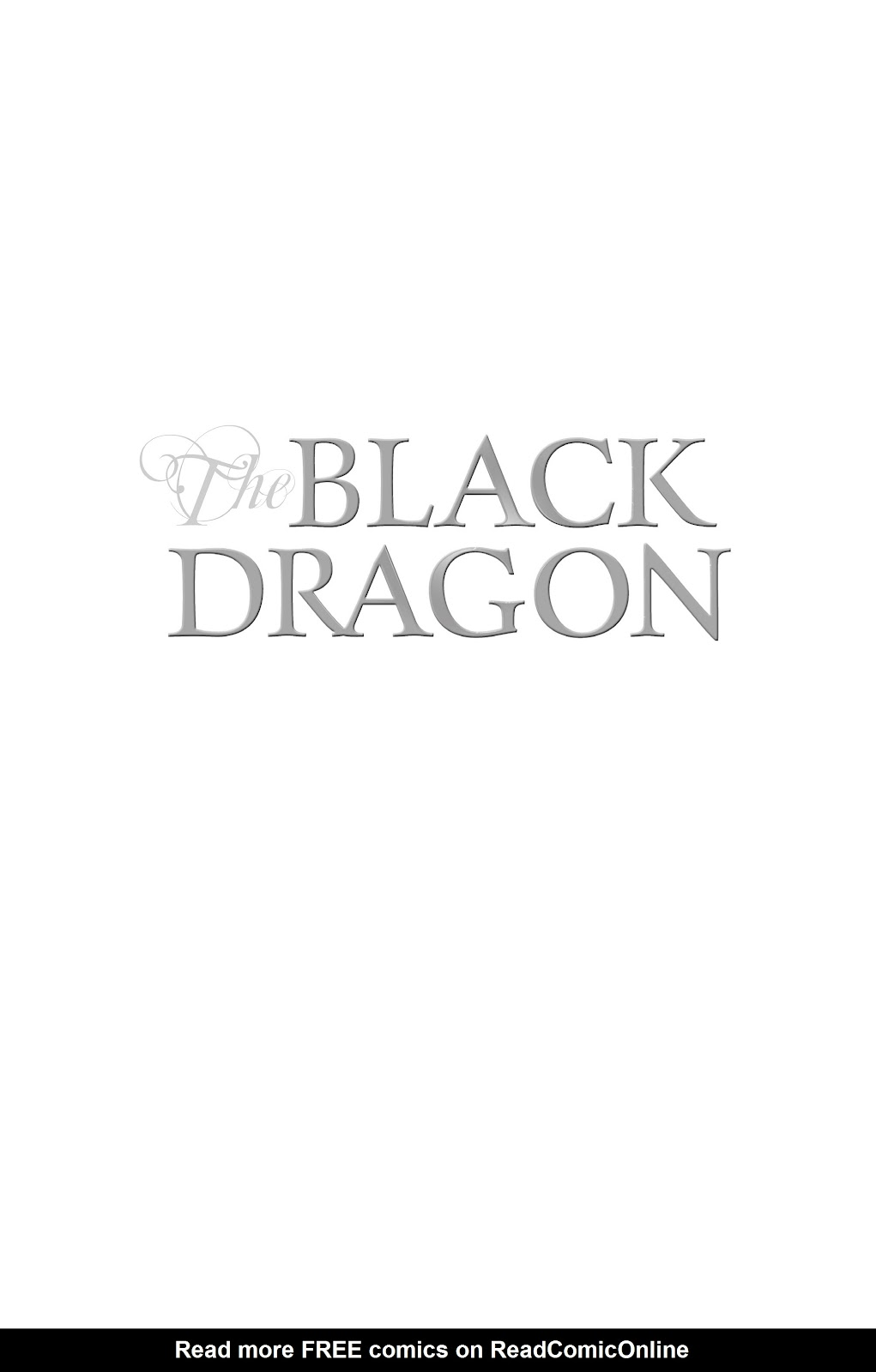 Read online The Black Dragon (2014) comic -  Issue # TPB (Part 1) - 2