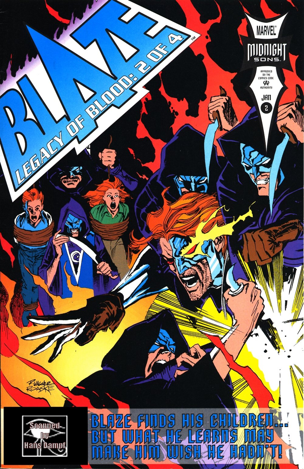 Blaze: Legacy of Blood 2 Page 1