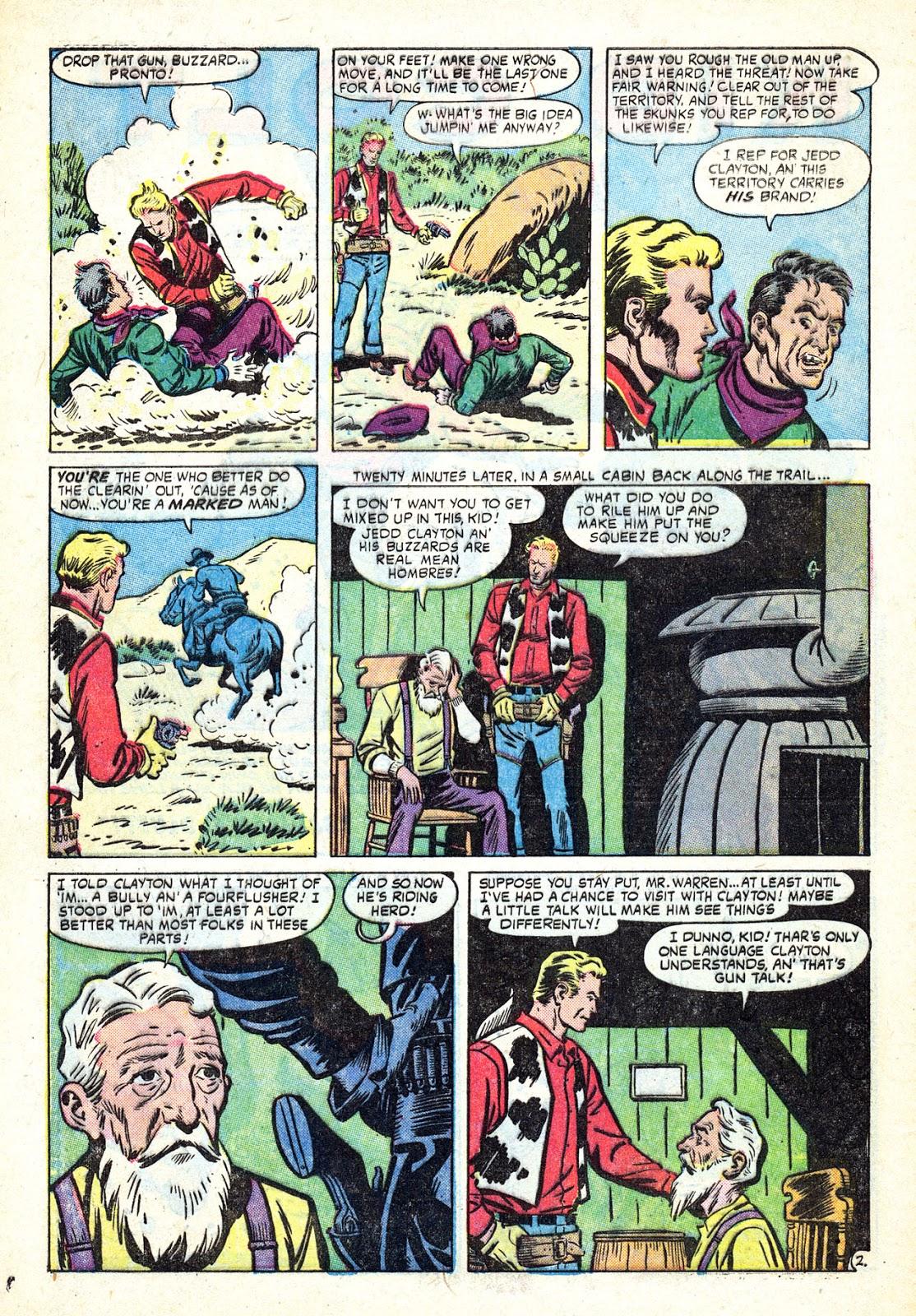Gunsmoke Western issue 34 - Page 4