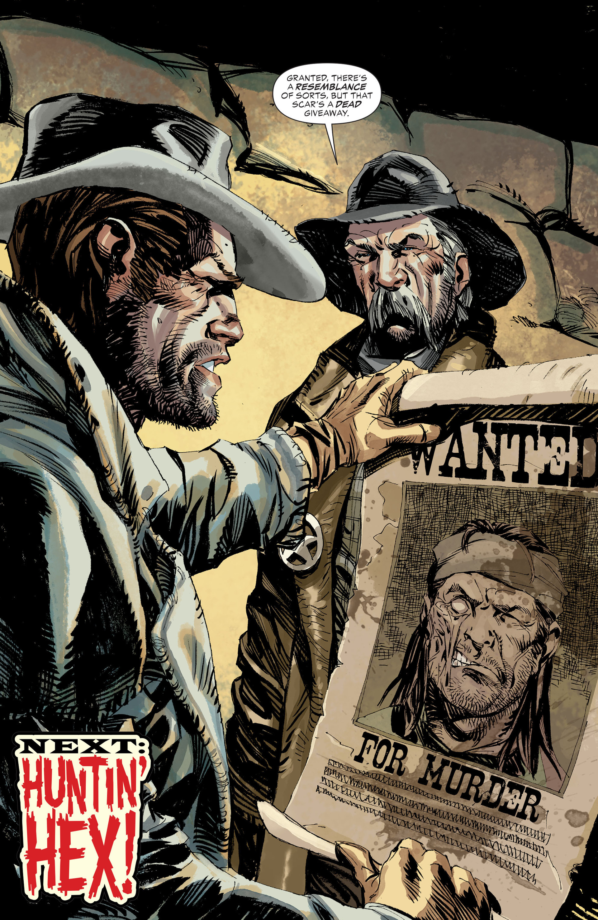 Read online All-Star Western (2011) comic -  Issue #31 - 13