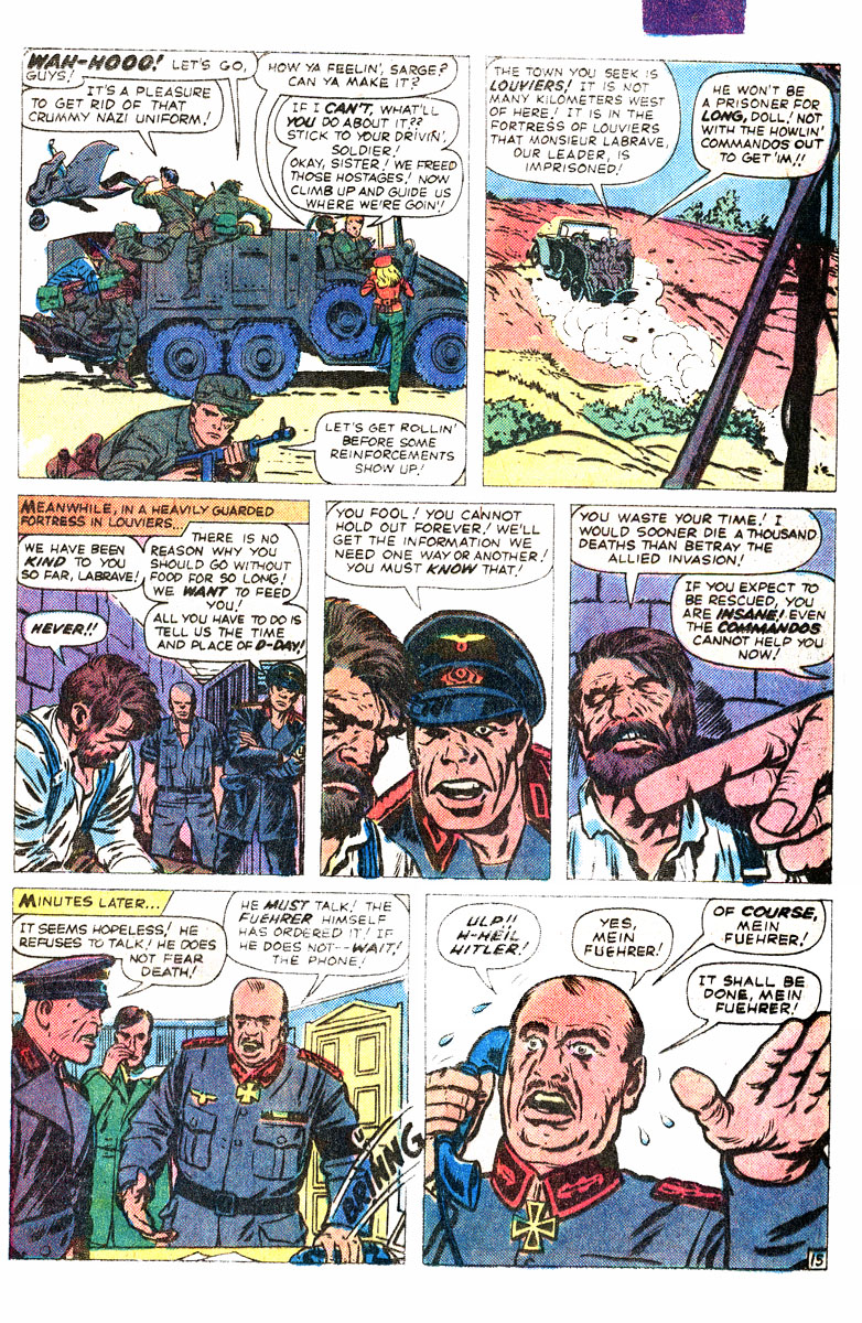 Read online Sgt. Fury comic -  Issue #167 - 26