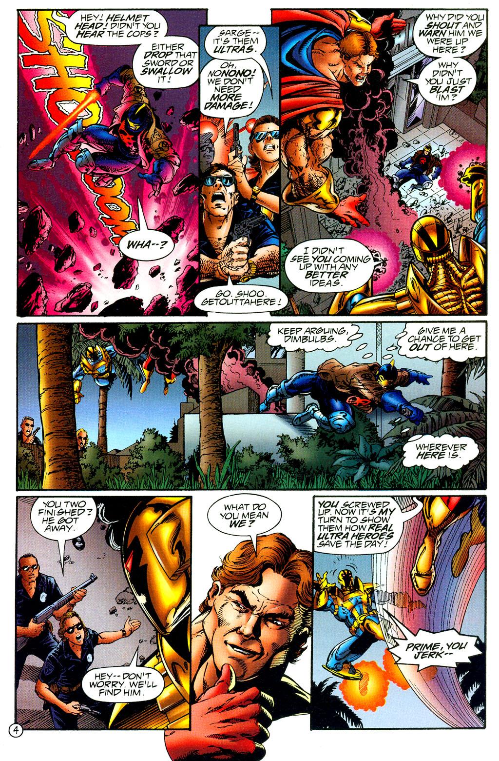Read online UltraForce (1994) comic -  Issue #8 - 4