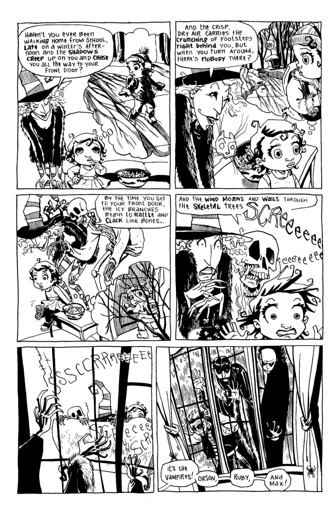 Read online Scary Godmother Comic Book Stories comic -  Issue # TPB - 50