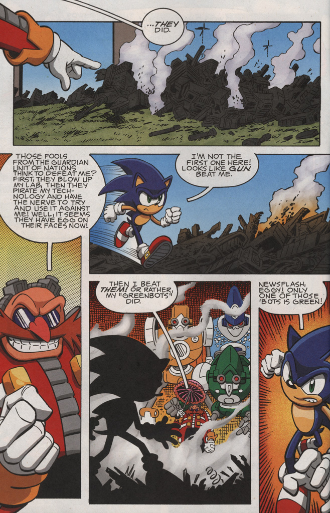 Read online Sonic X comic -  Issue #28 - 6