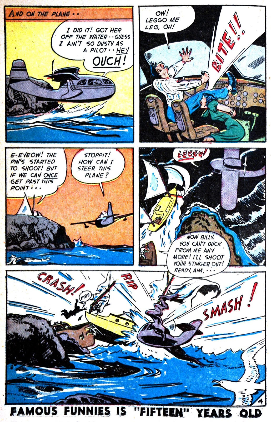 Read online Famous Funnies comic -  Issue #180 - 24