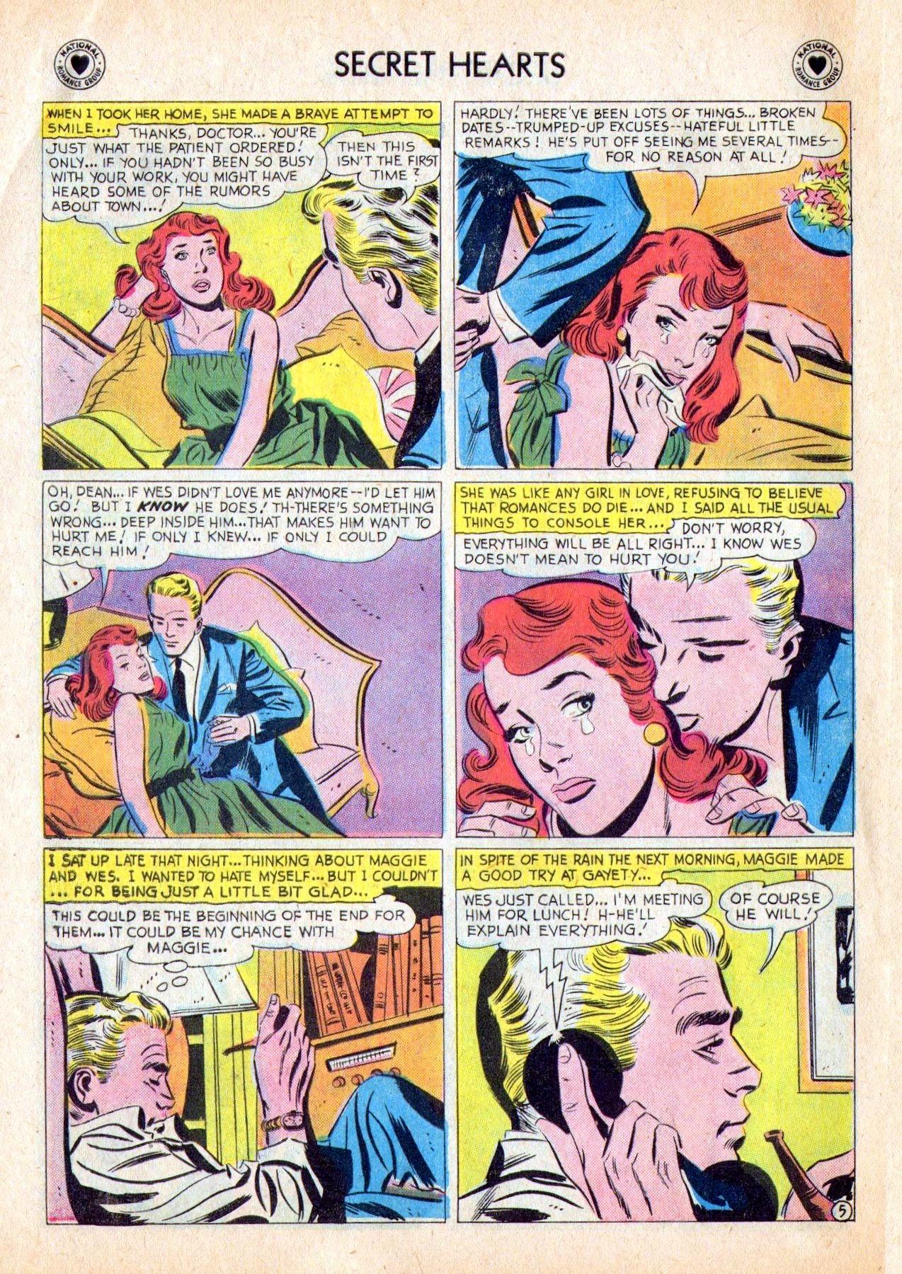 Read online Secret Hearts comic -  Issue #53 - 30