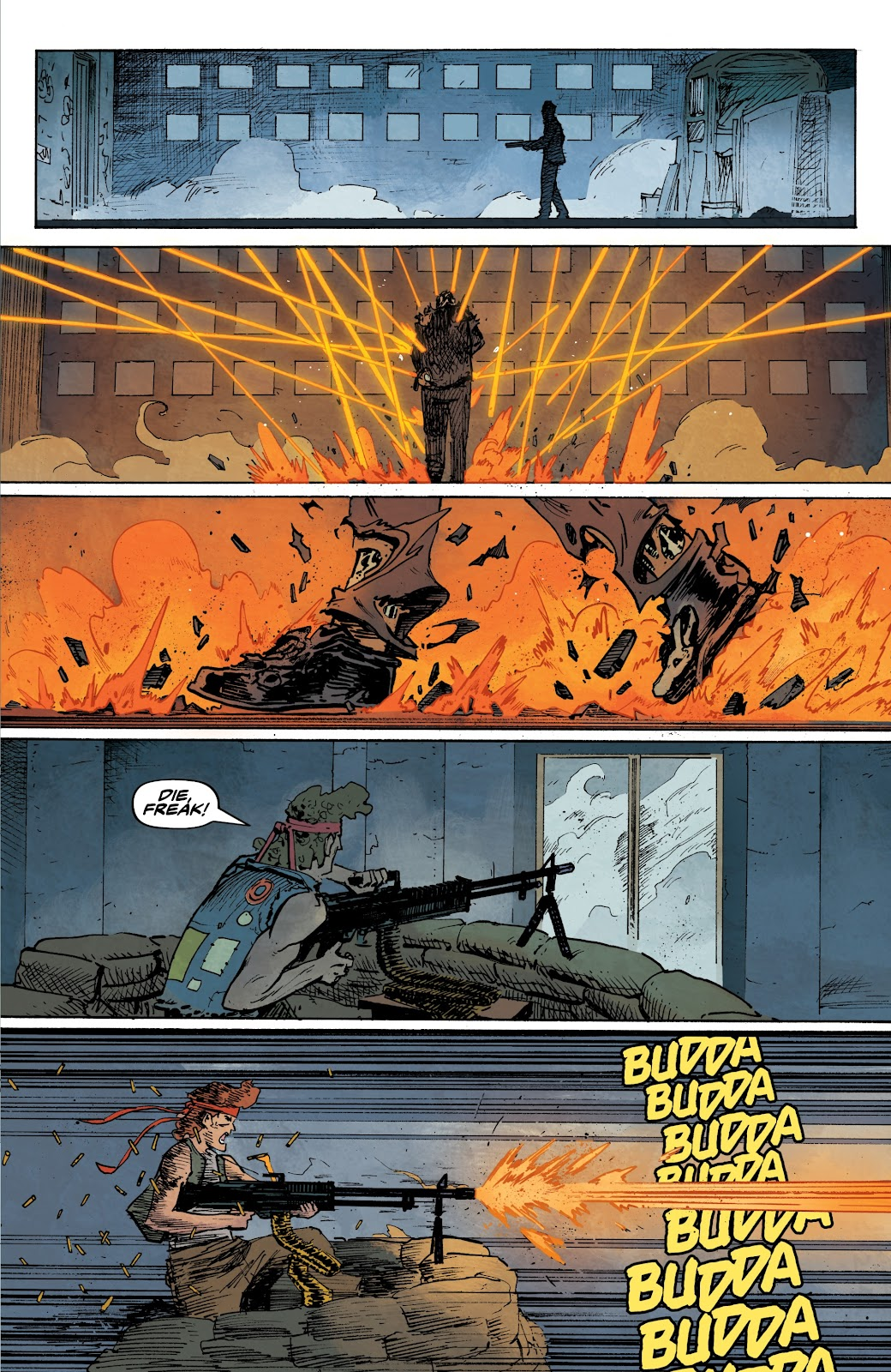 Read online The Terminator: Sector War comic -  Issue #3 - 10