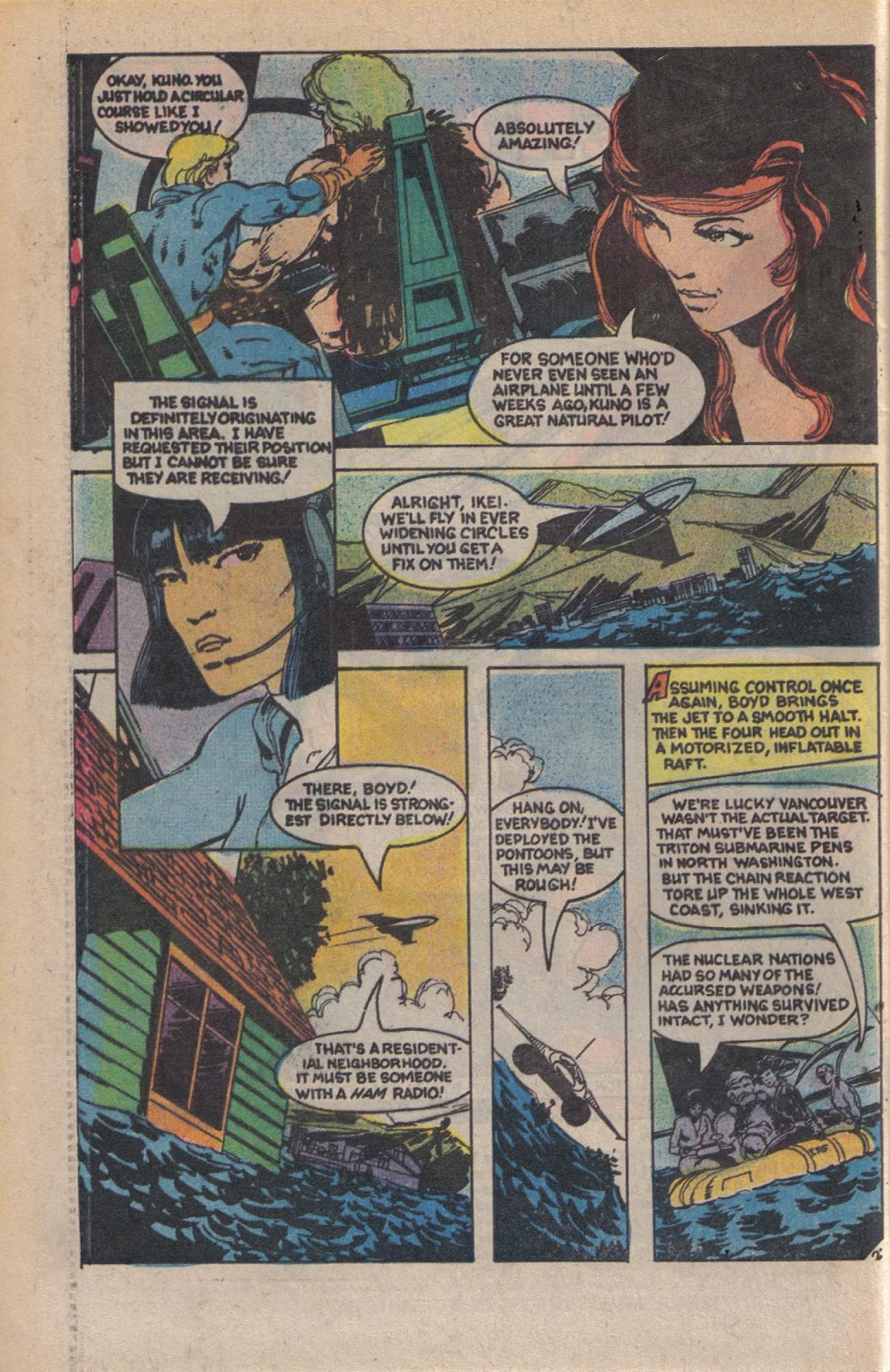 Read online Doomsday   1 (1975) comic -  Issue #10 - 4