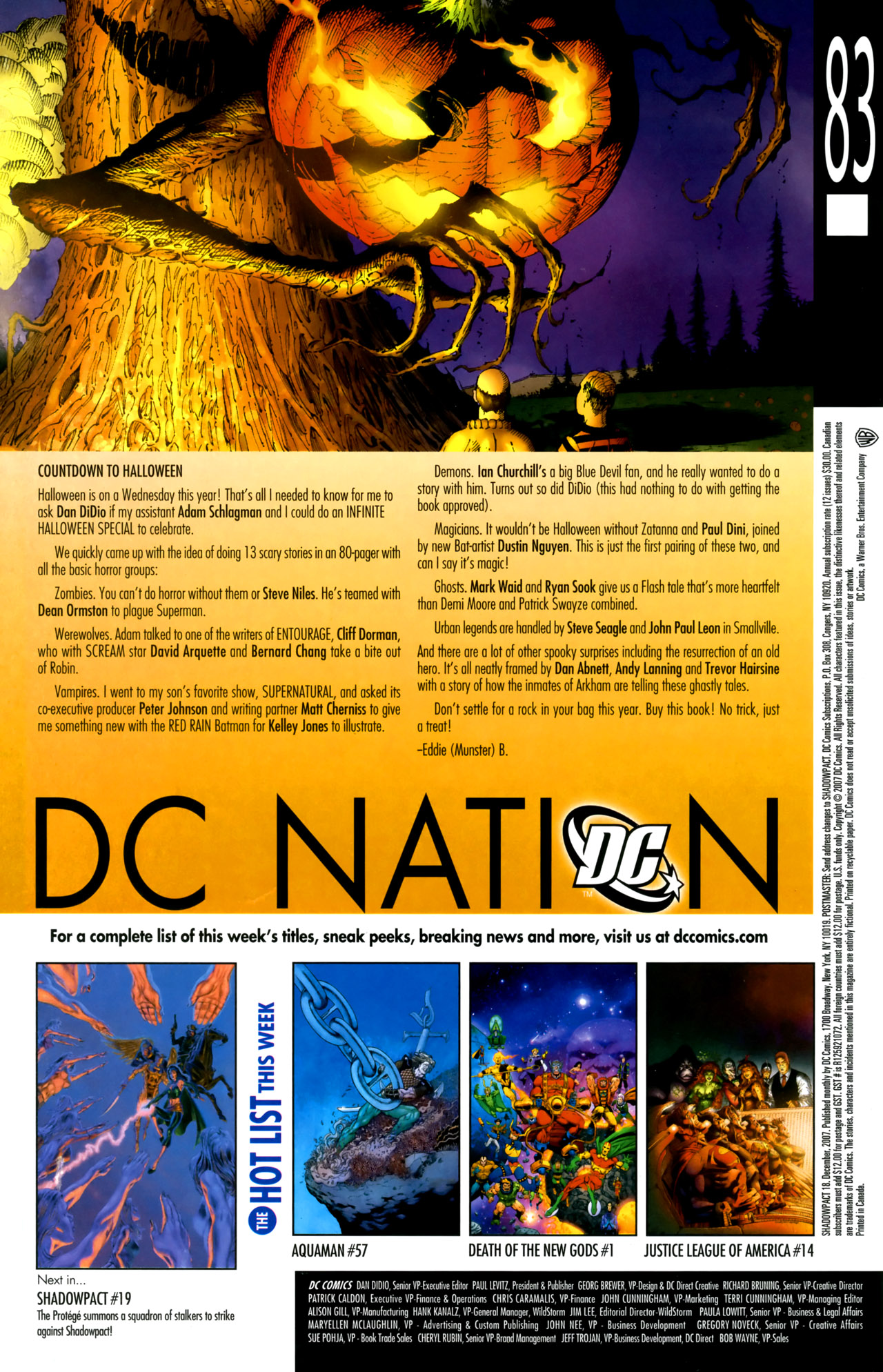 Read online Shadowpact comic -  Issue #18 - 24