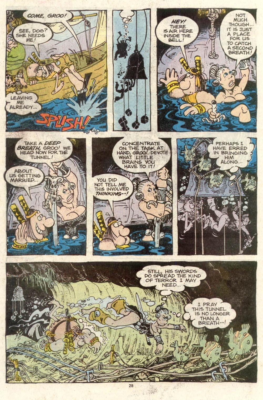 Read online Sergio Aragonés Groo the Wanderer comic -  Issue #50 - 28