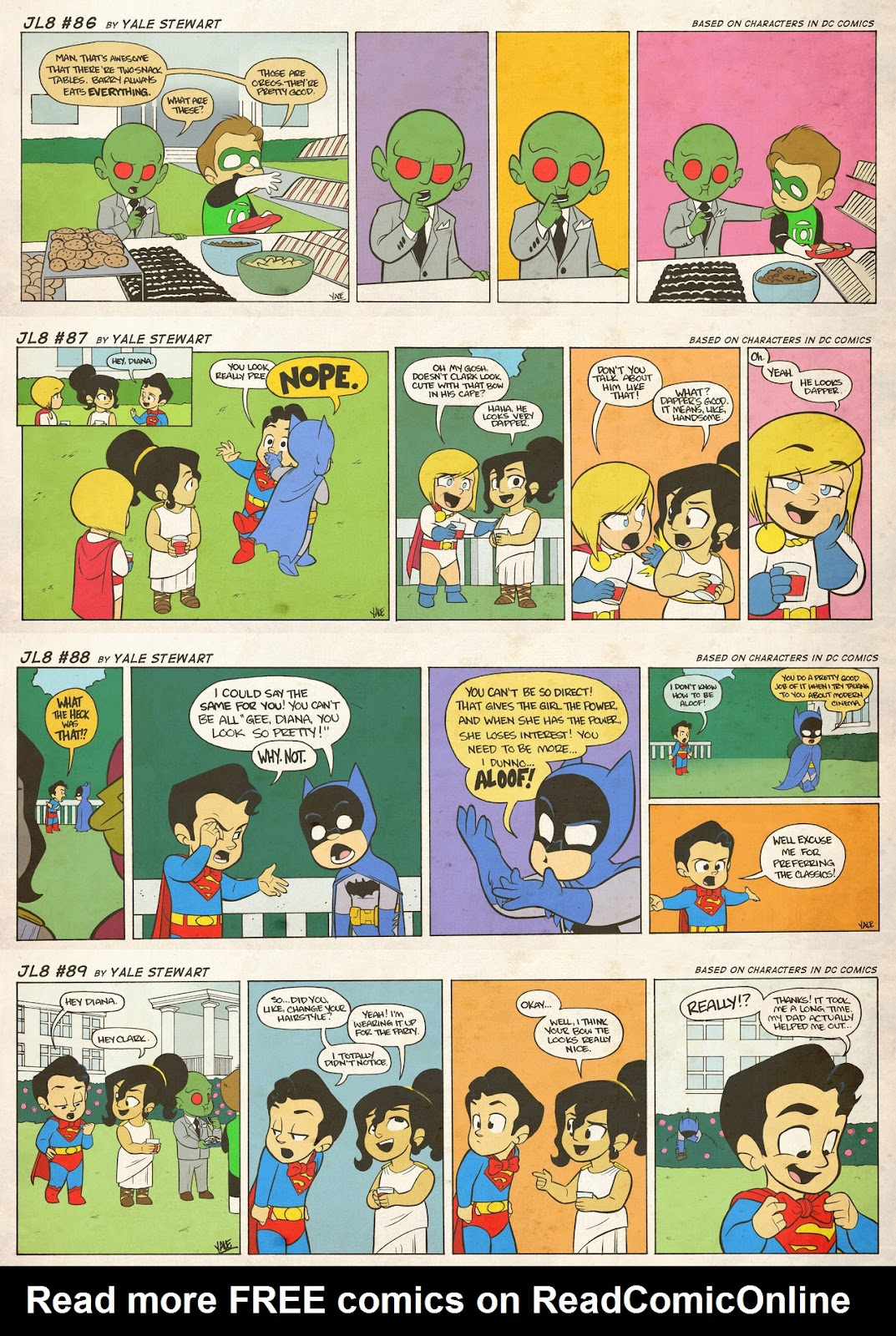 Read online JL8 – The Complete Collection comic -  Issue # TPB (Part 1) - 43