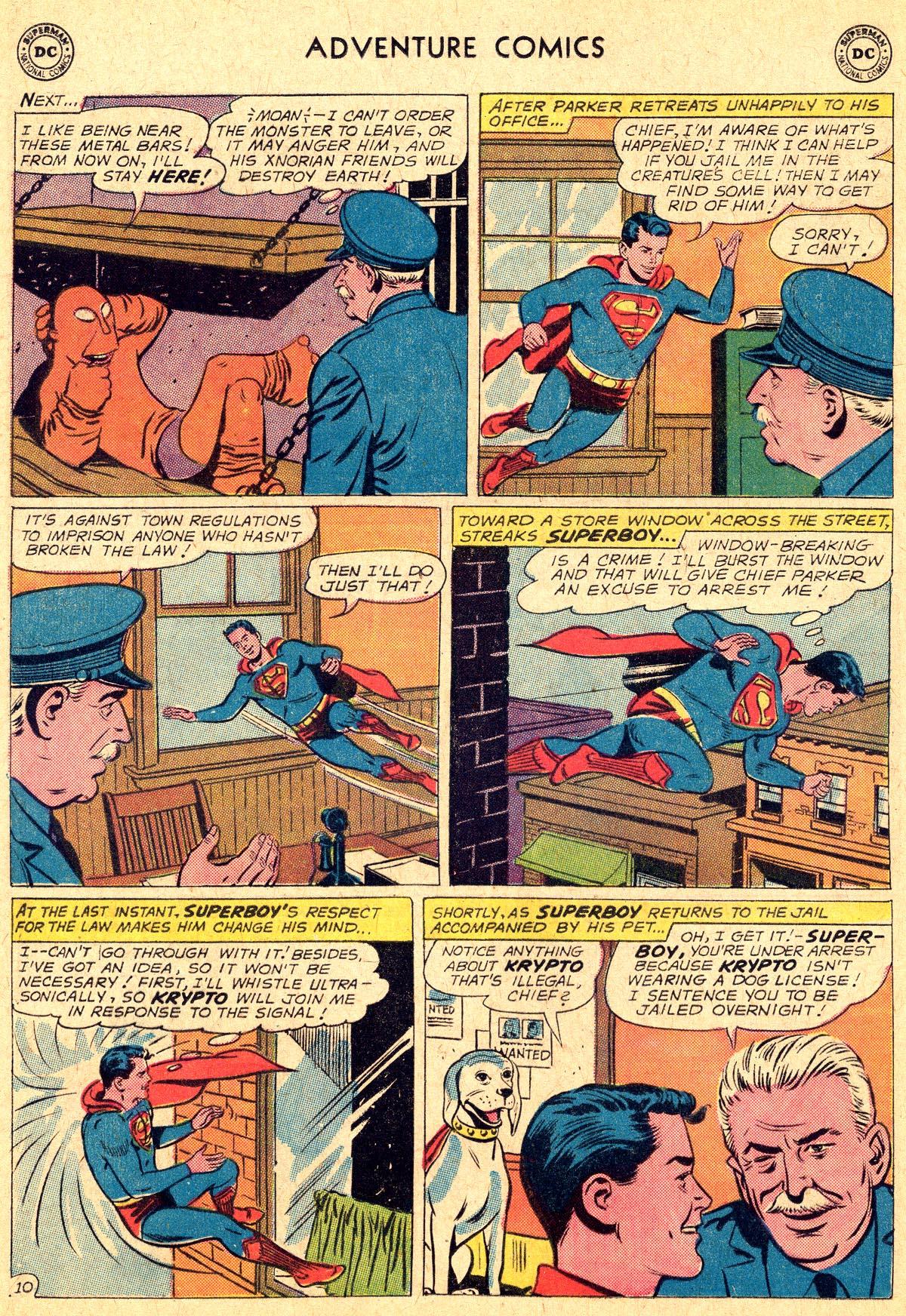 Read online Adventure Comics (1938) comic -  Issue #294 - 12