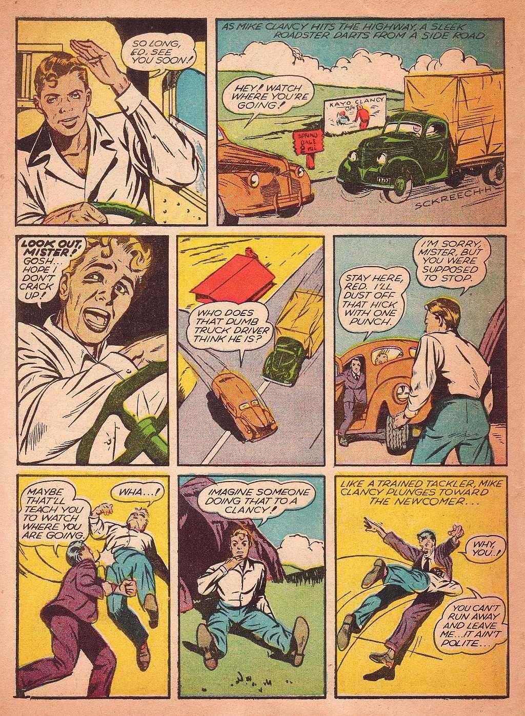 Read online Super-Magician Comics comic -  Issue #2 - 56