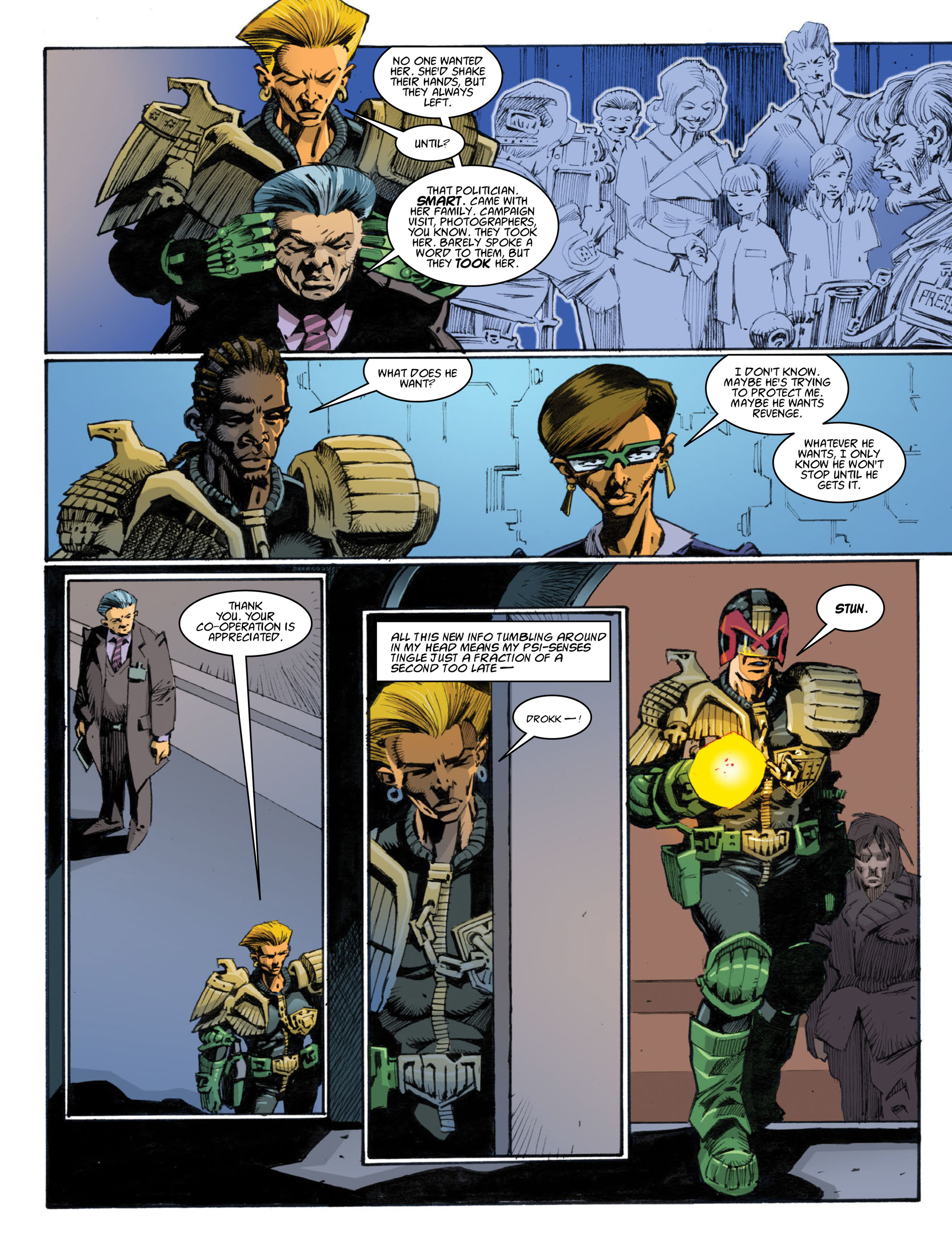 Read online 2000 AD comic -  Issue #1996 - 27