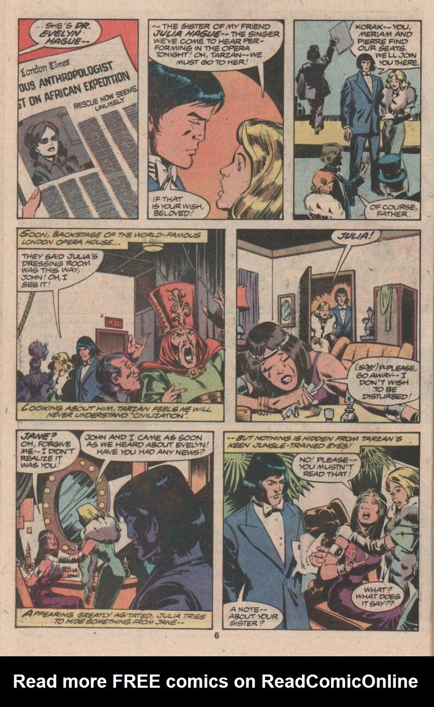Read online Tarzan (1977) comic -  Issue # _Annual 3 - 5