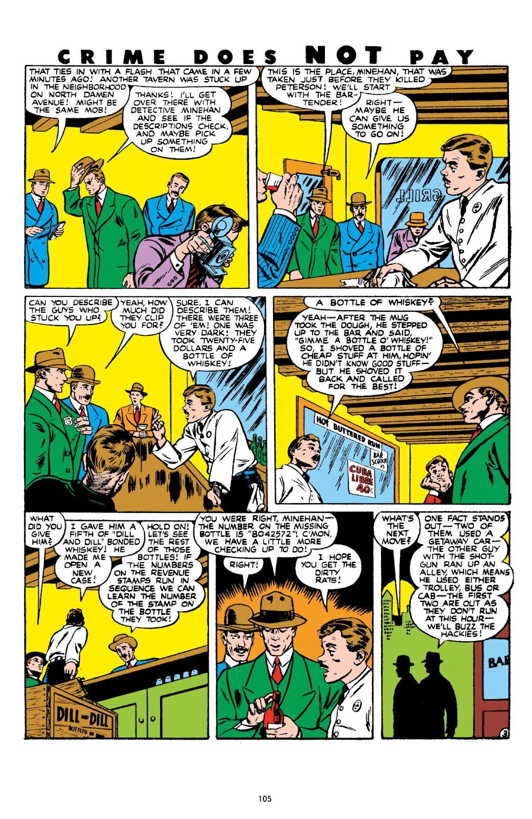 Read online Crime Does Not Pay Archives comic -  Issue # TPB 8 (Part 2) - 6