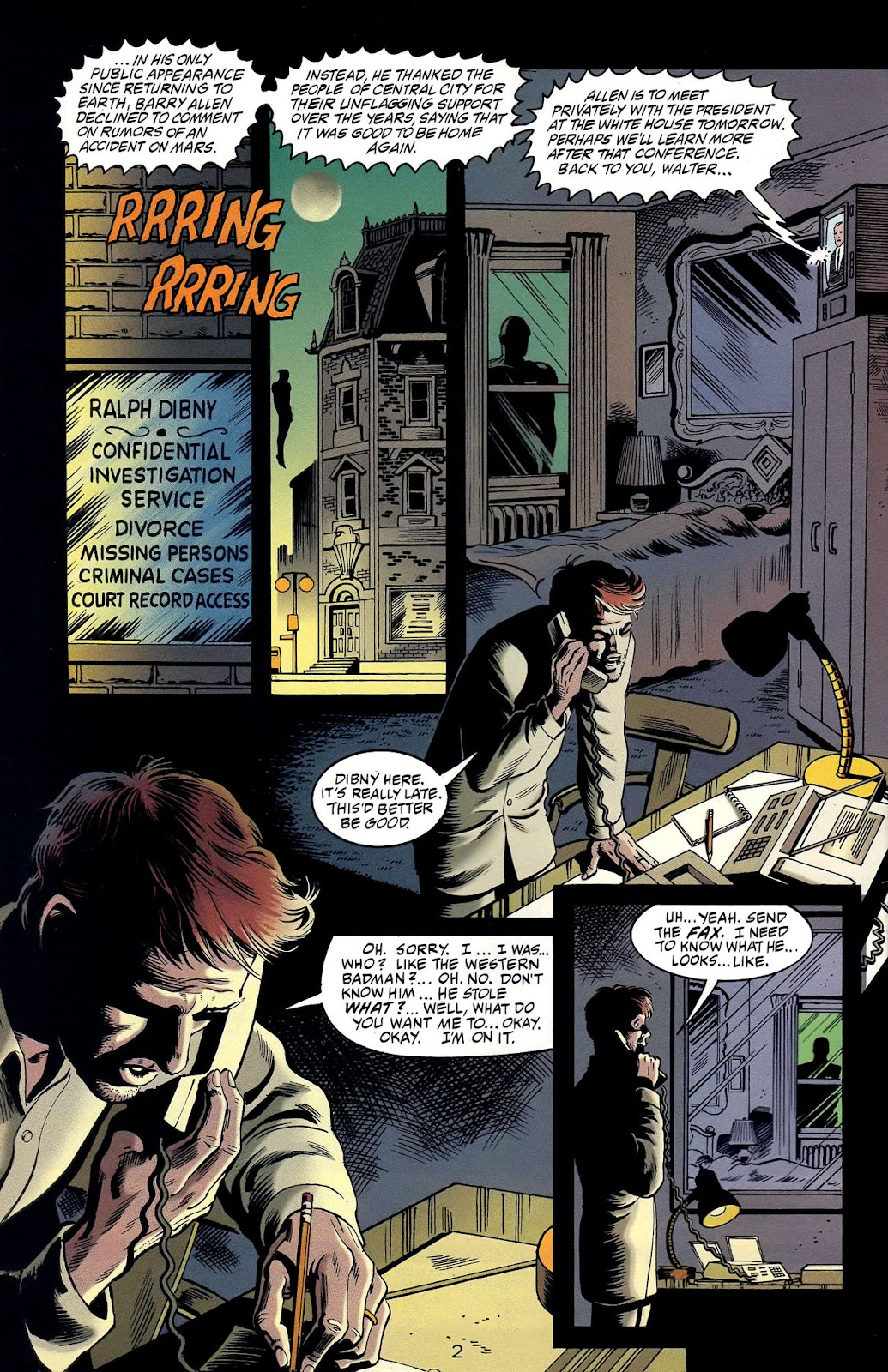 Read online Flashpoint (1999) comic -  Issue #2 - 4