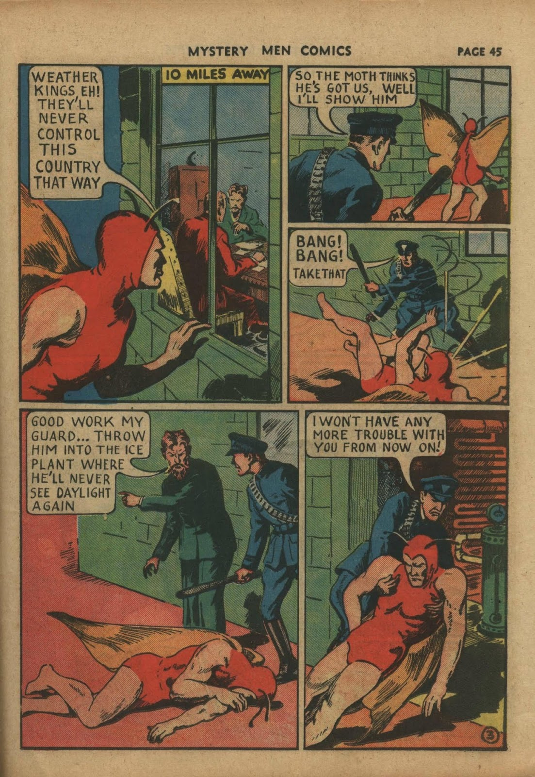 Mystery Men Comics issue 10 - Page 47