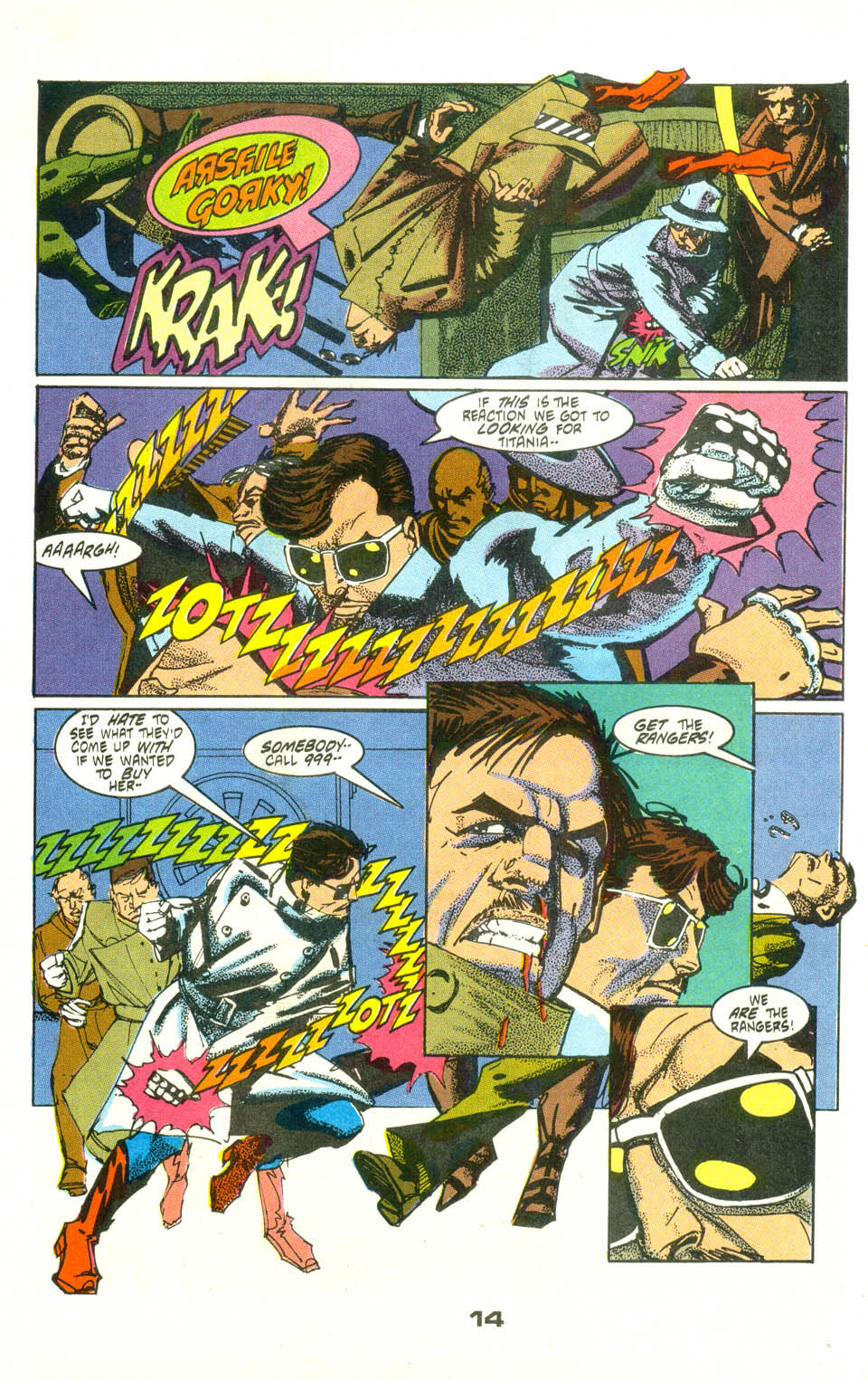 Read online American Flagg! comic -  Issue #25 - 16