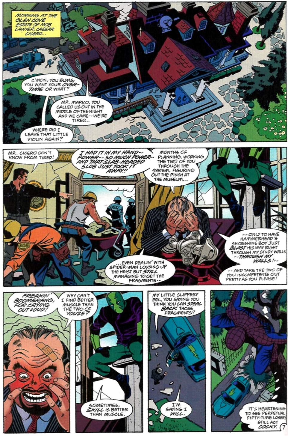 Read online Spider-Man: Lifeline comic -  Issue #2 - 8