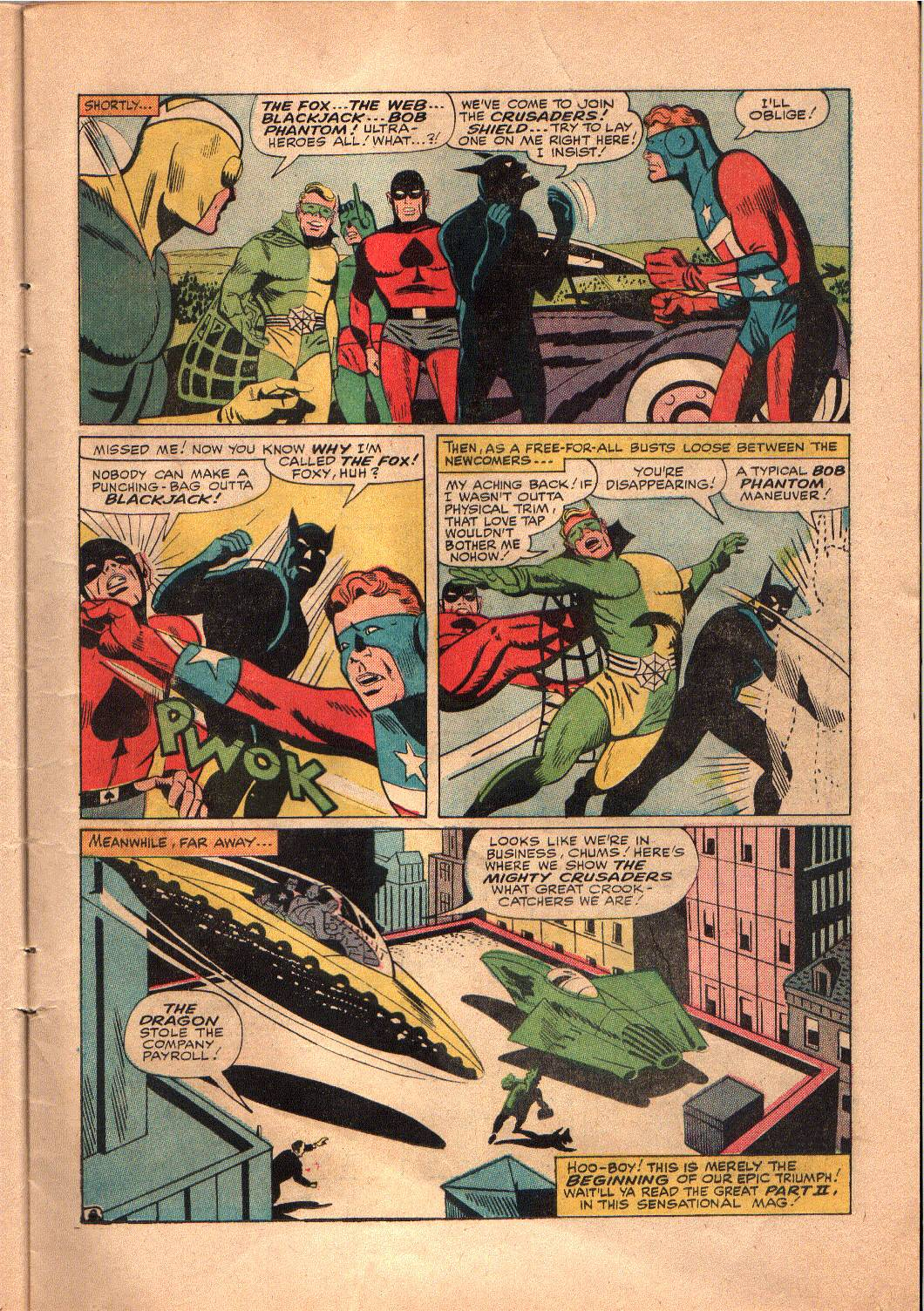 The Mighty Crusaders (1965) Issue #4 #4 - English 9