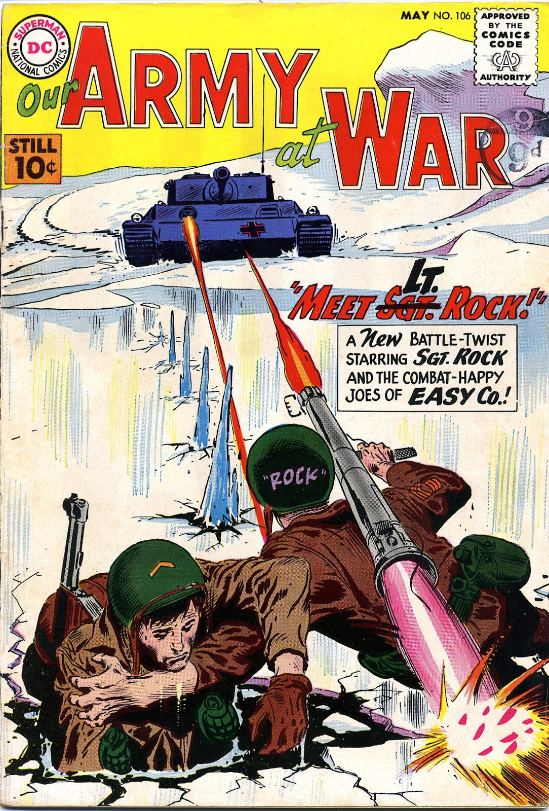 Our Army at War (1952) issue 106 - Page 1
