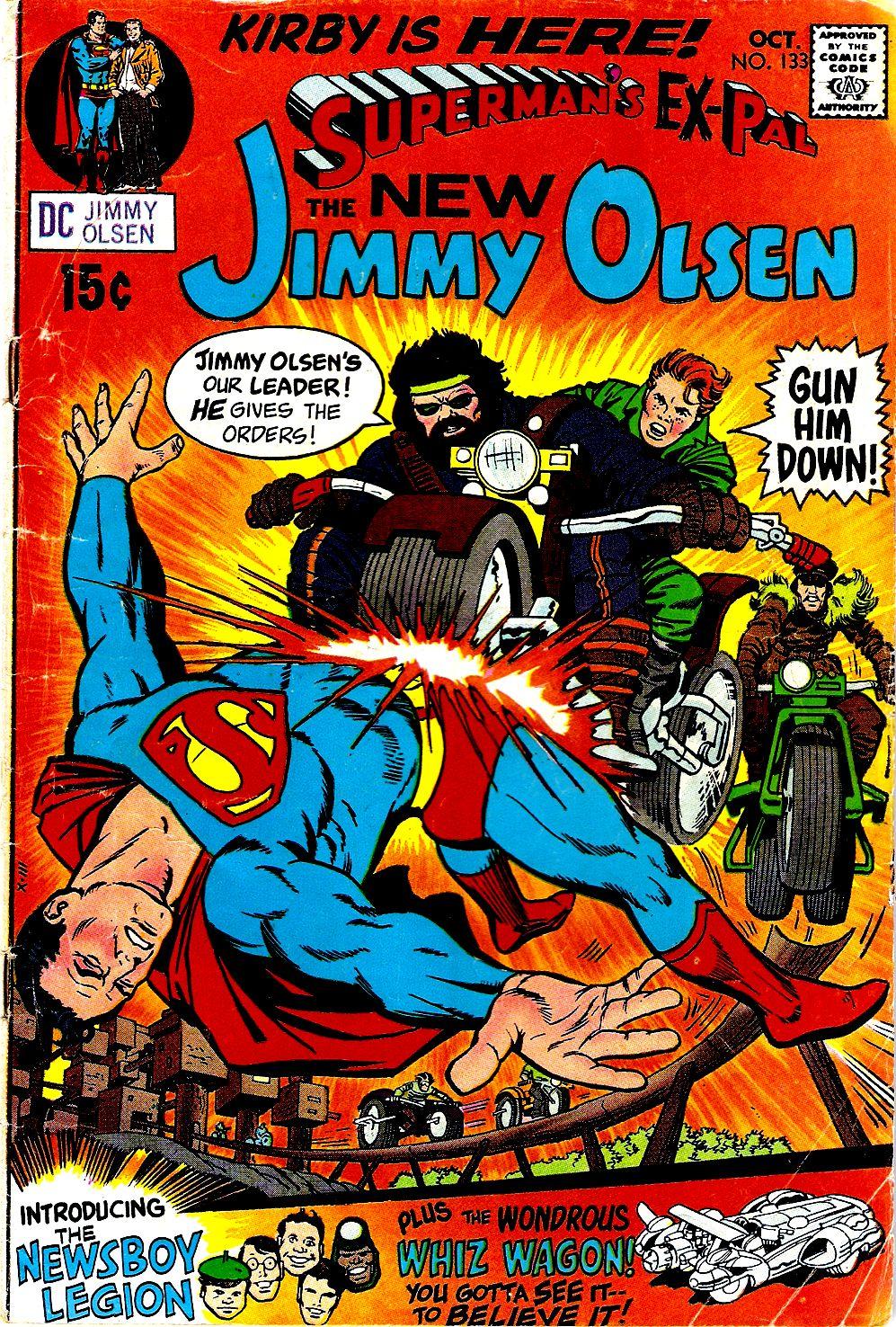 Supermans Pal Jimmy Olsen (1954) 133 Page 1