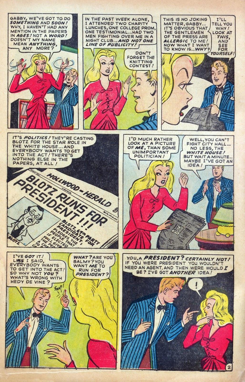 Hedy De Vine Comics issue 31 - Page 4