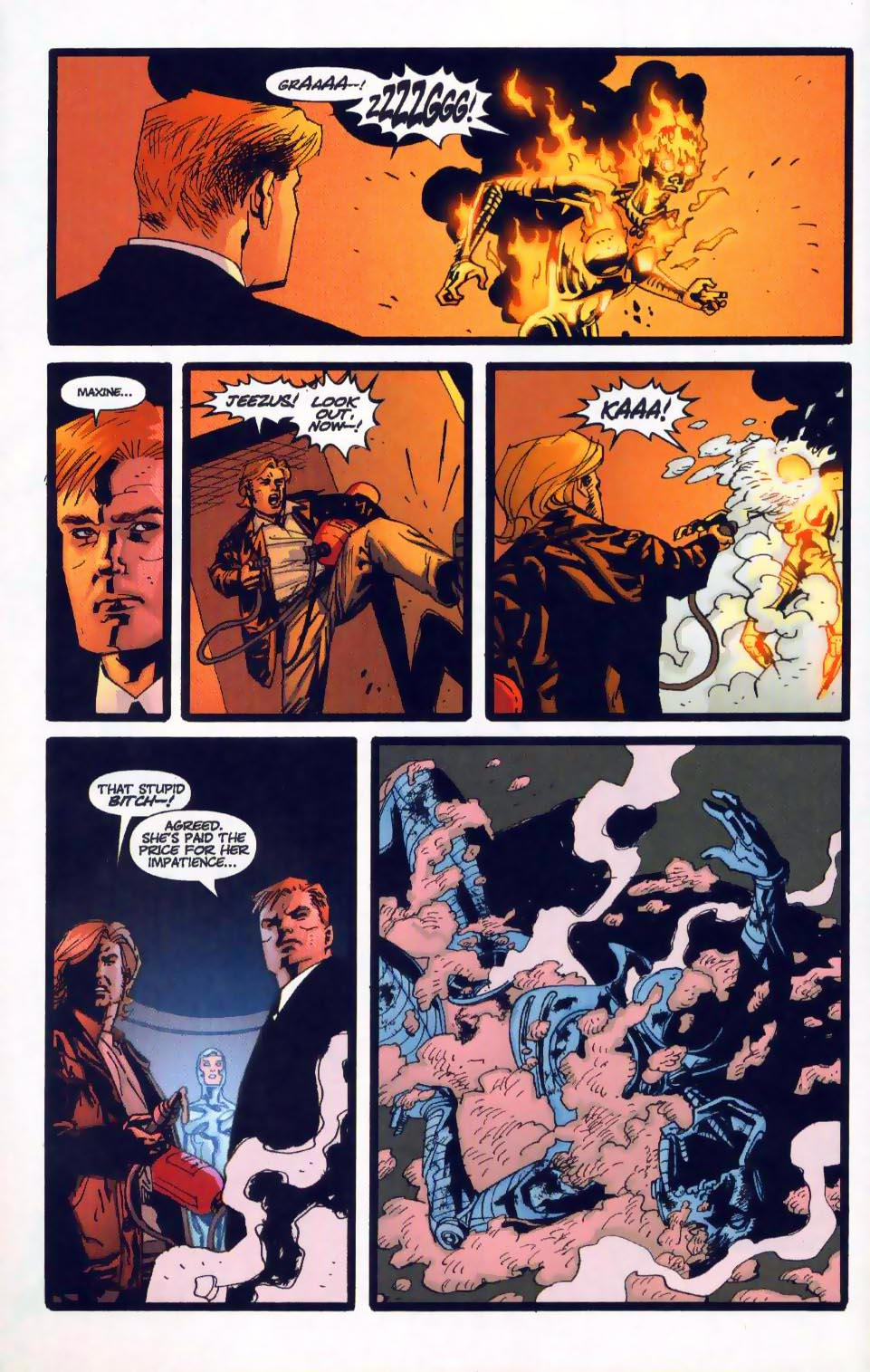 Wildcats (1999) Issue #18 #19 - English 22