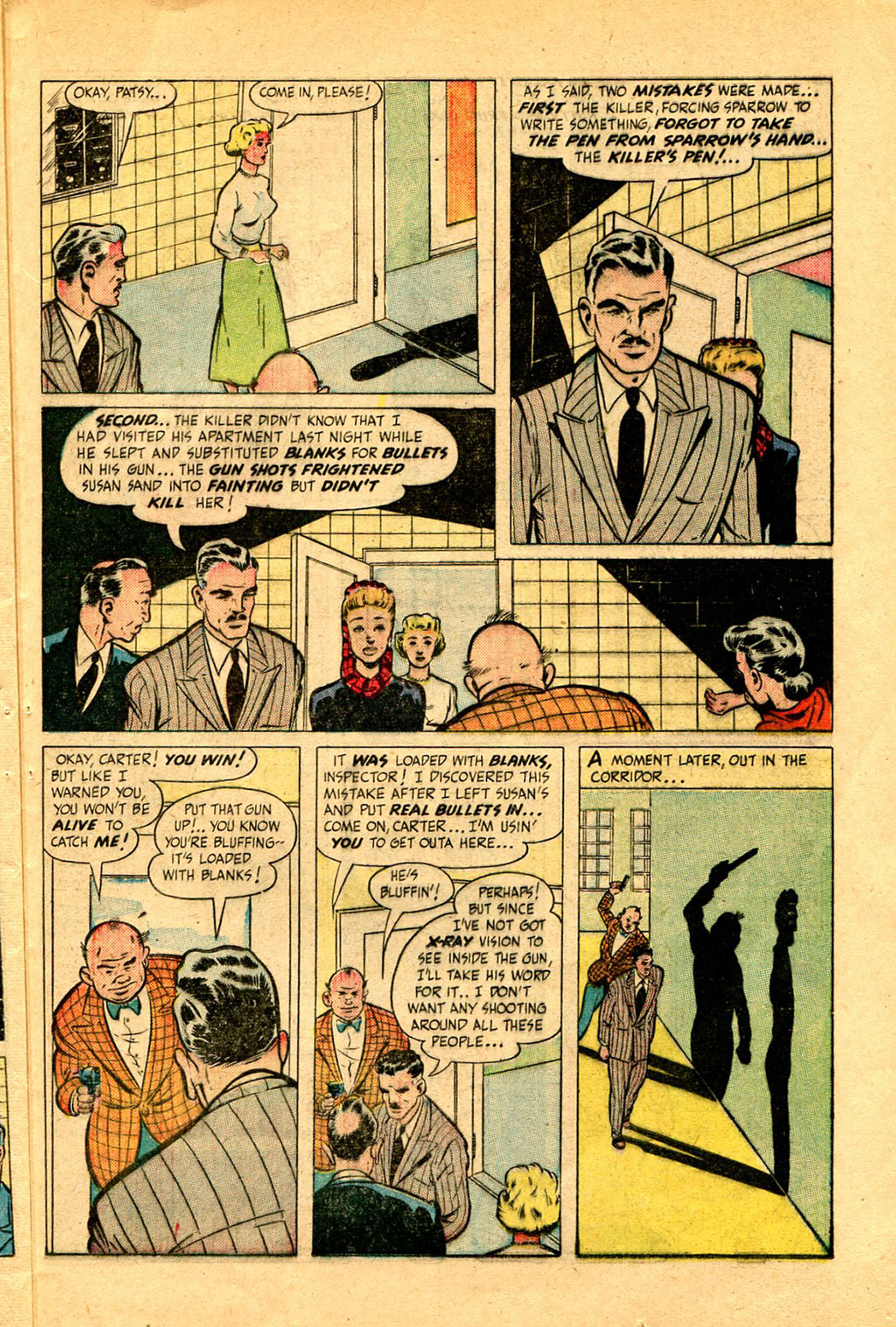 Read online Shadow Comics comic -  Issue #97 - 35