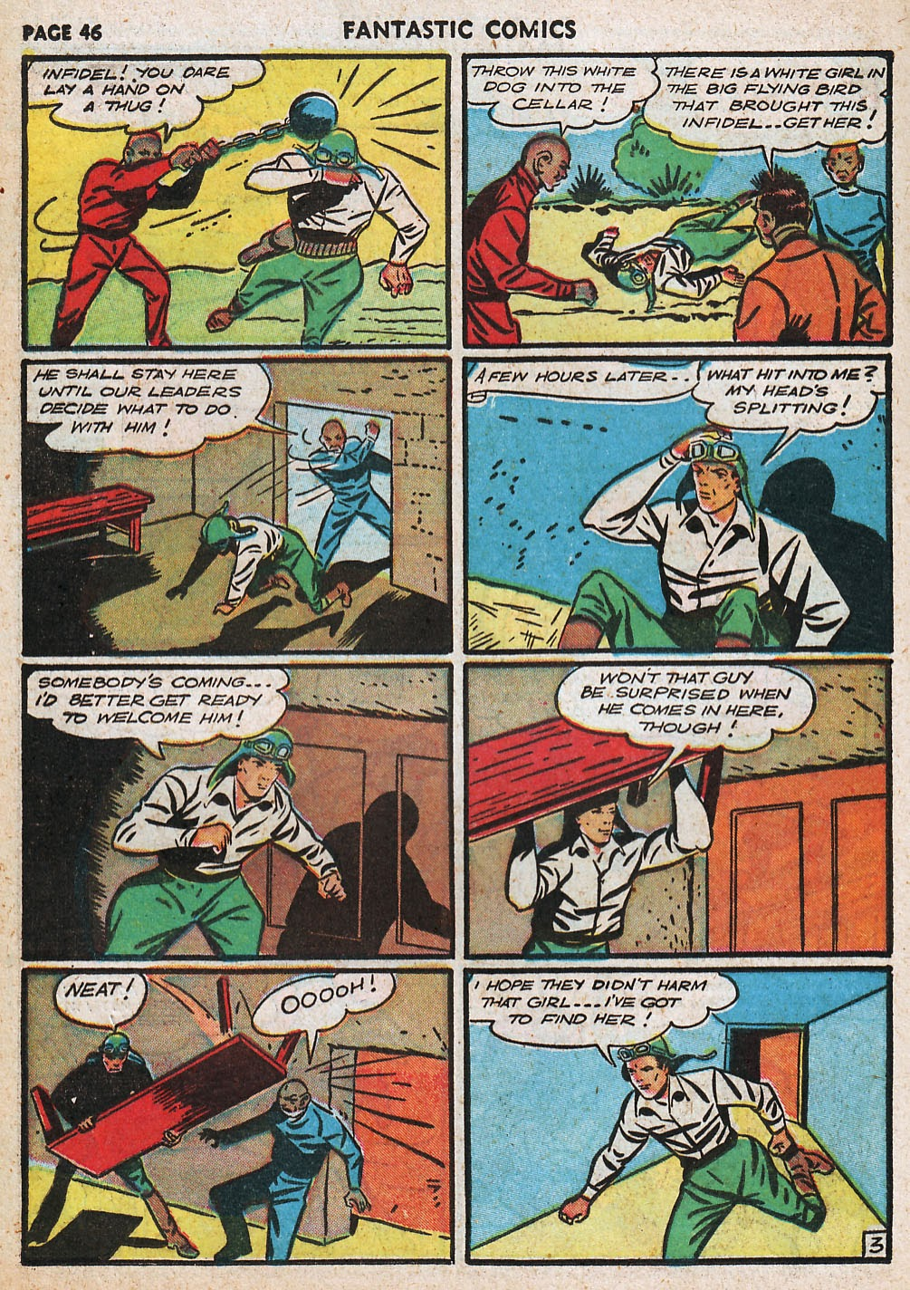 Read online Fantastic Comics comic -  Issue #20 - 46