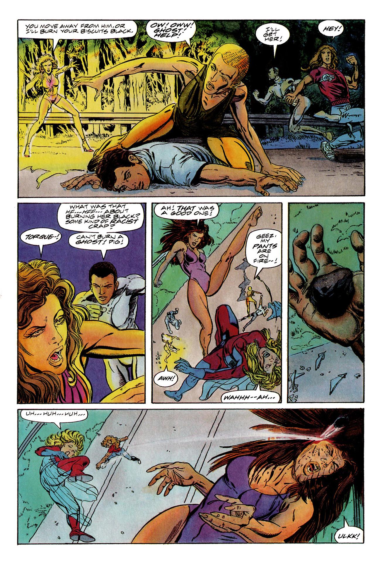 Read online Harbinger (1992) comic -  Issue #6 - 17