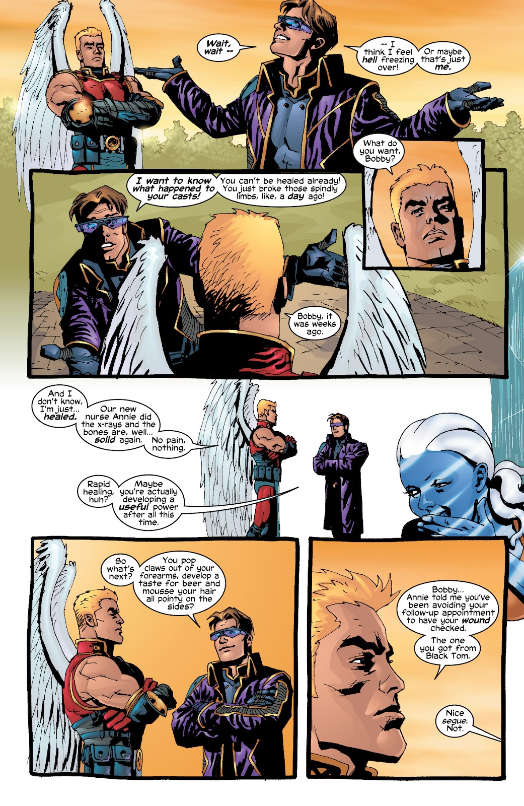 Read online X-Men: Unstoppable comic -  Issue # TPB (Part 2) - 26