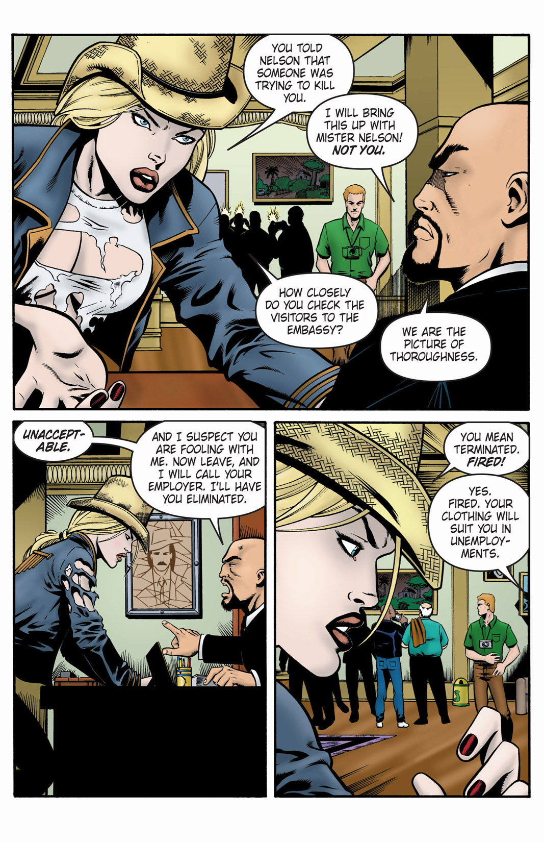 Read online SideChicks comic -  Issue #1 - 29