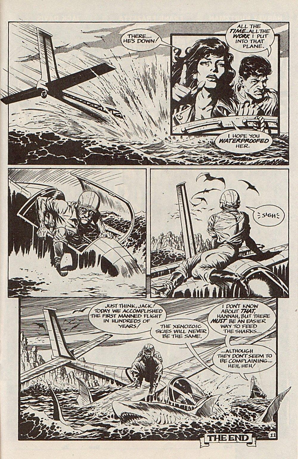 Read online Xenozoic Tales comic -  Issue #6 - 23