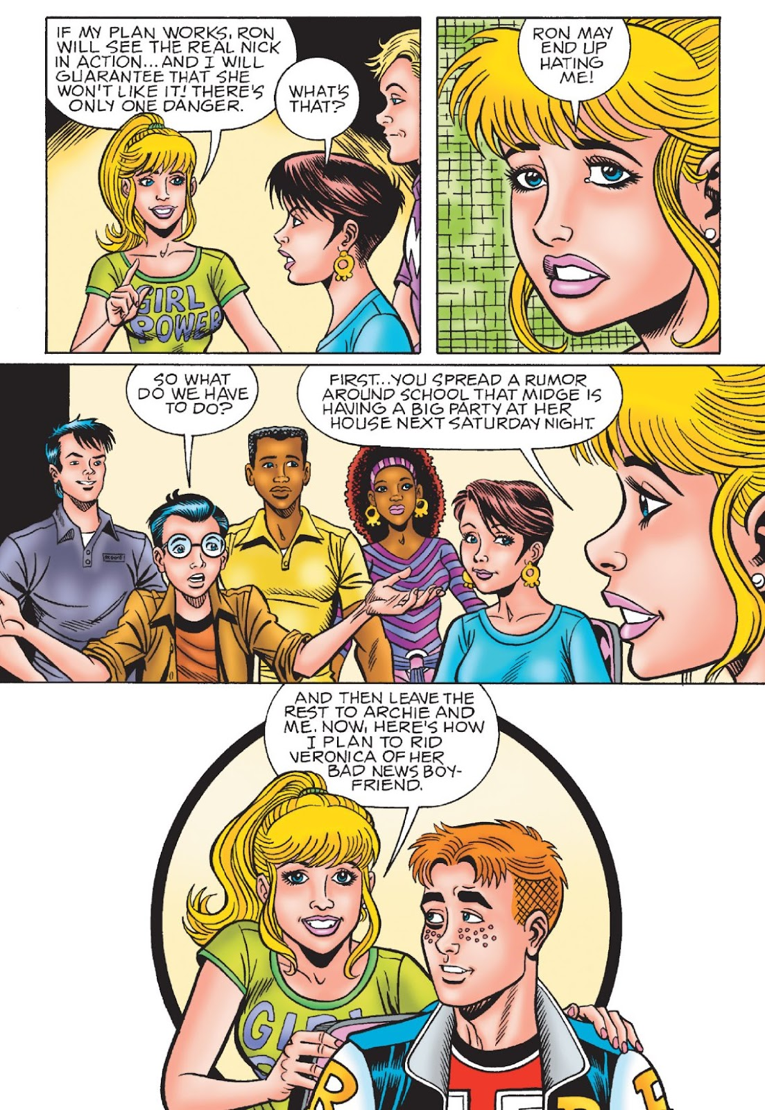 Read online Archie's New Look Series comic -  Issue #1 - 98