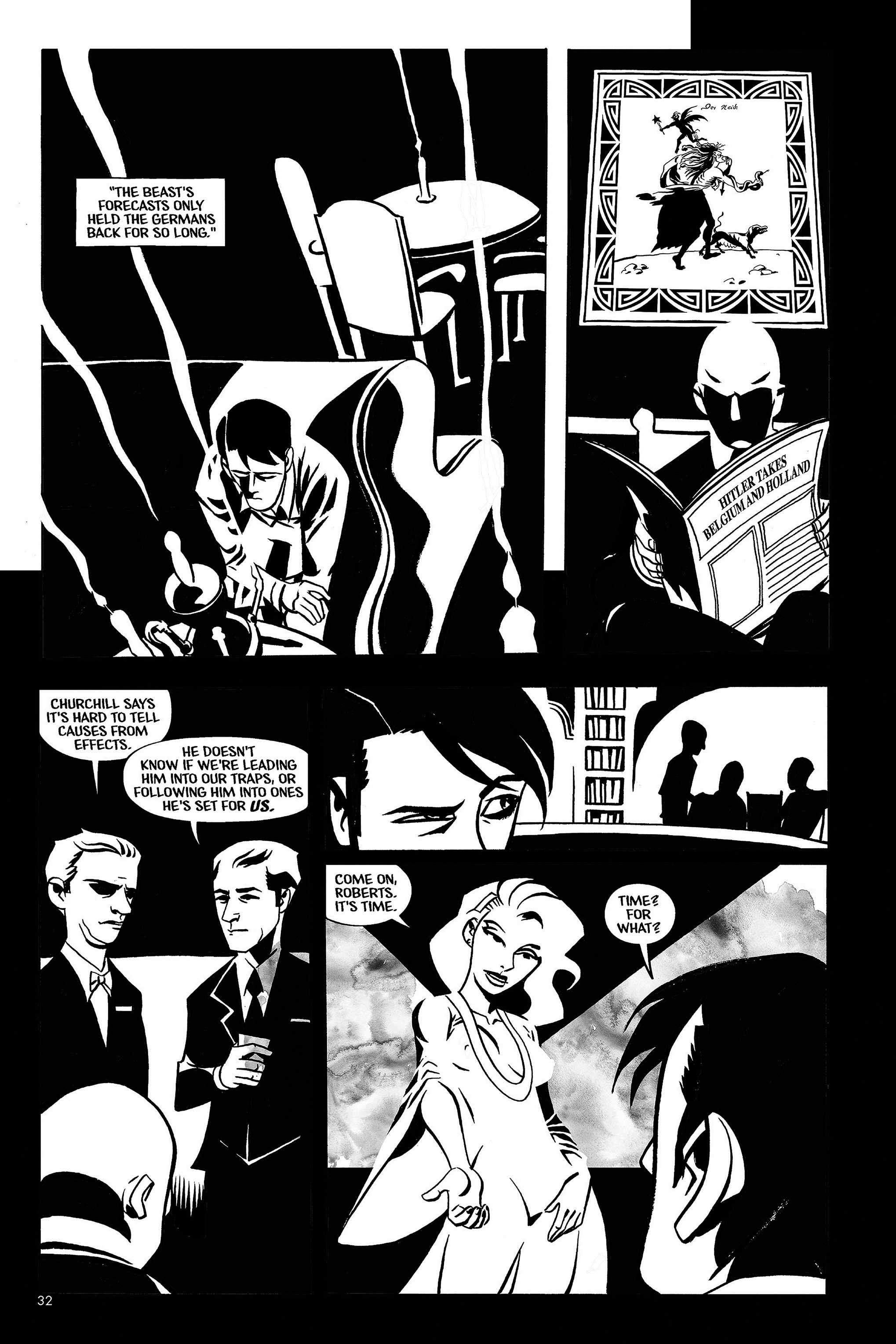Read online Aleister & Adolf comic -  Issue # TPB - 31
