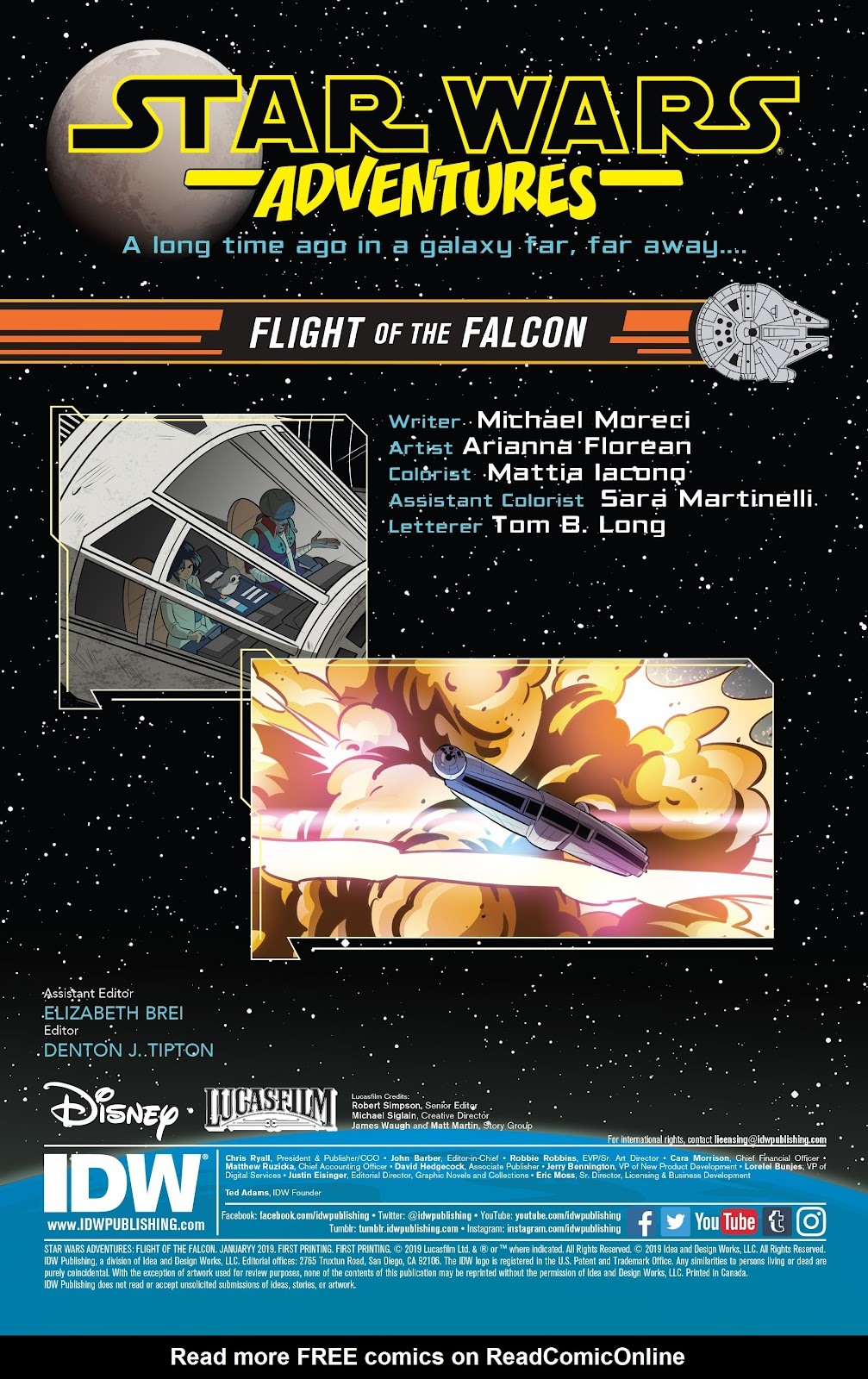 Read online Star Wars Adventures: Flight of the Falcon comic -  Issue # Full - 2