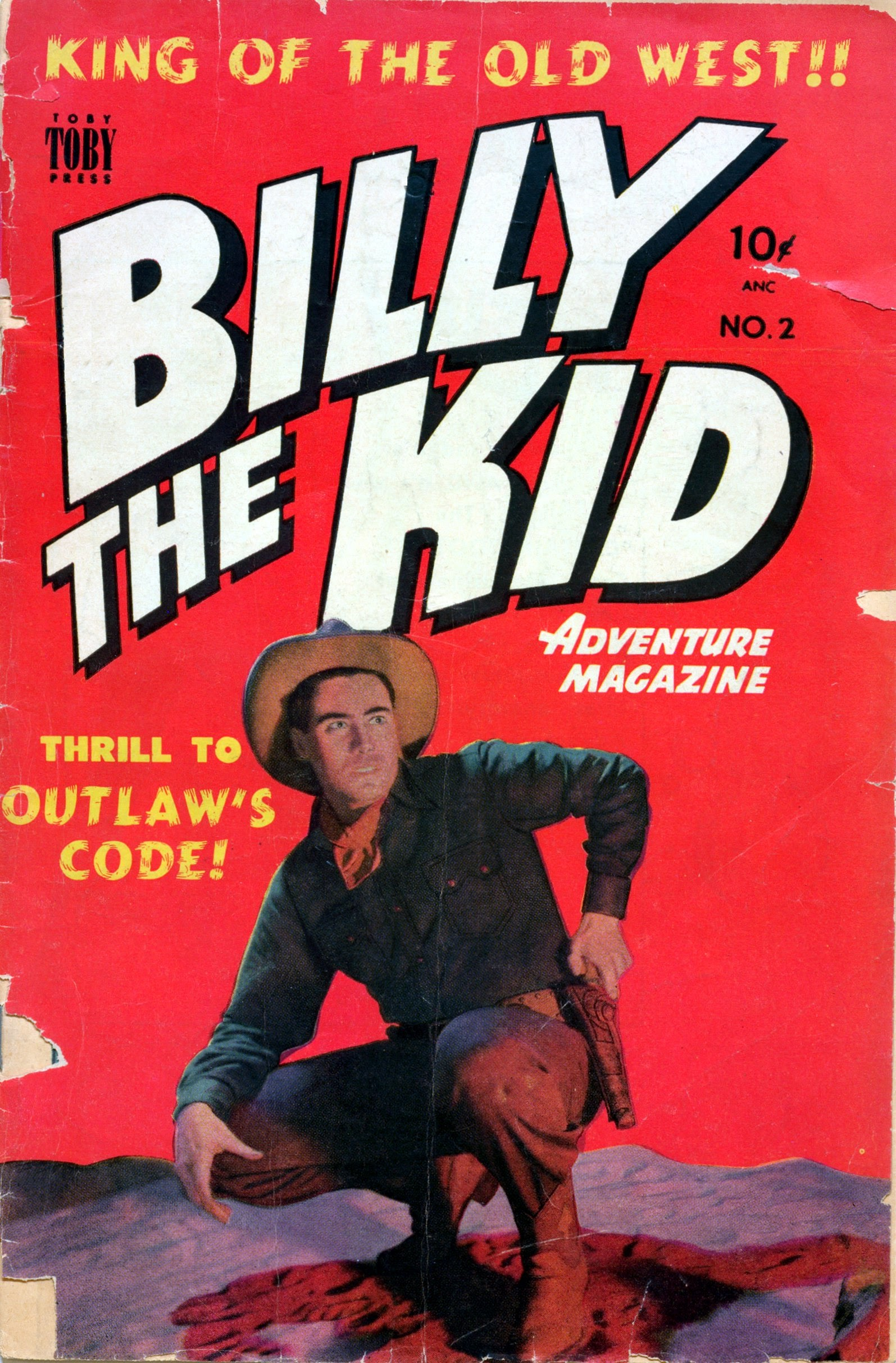 Billy the Kid Adventure Magazine issue 2 - Page 1