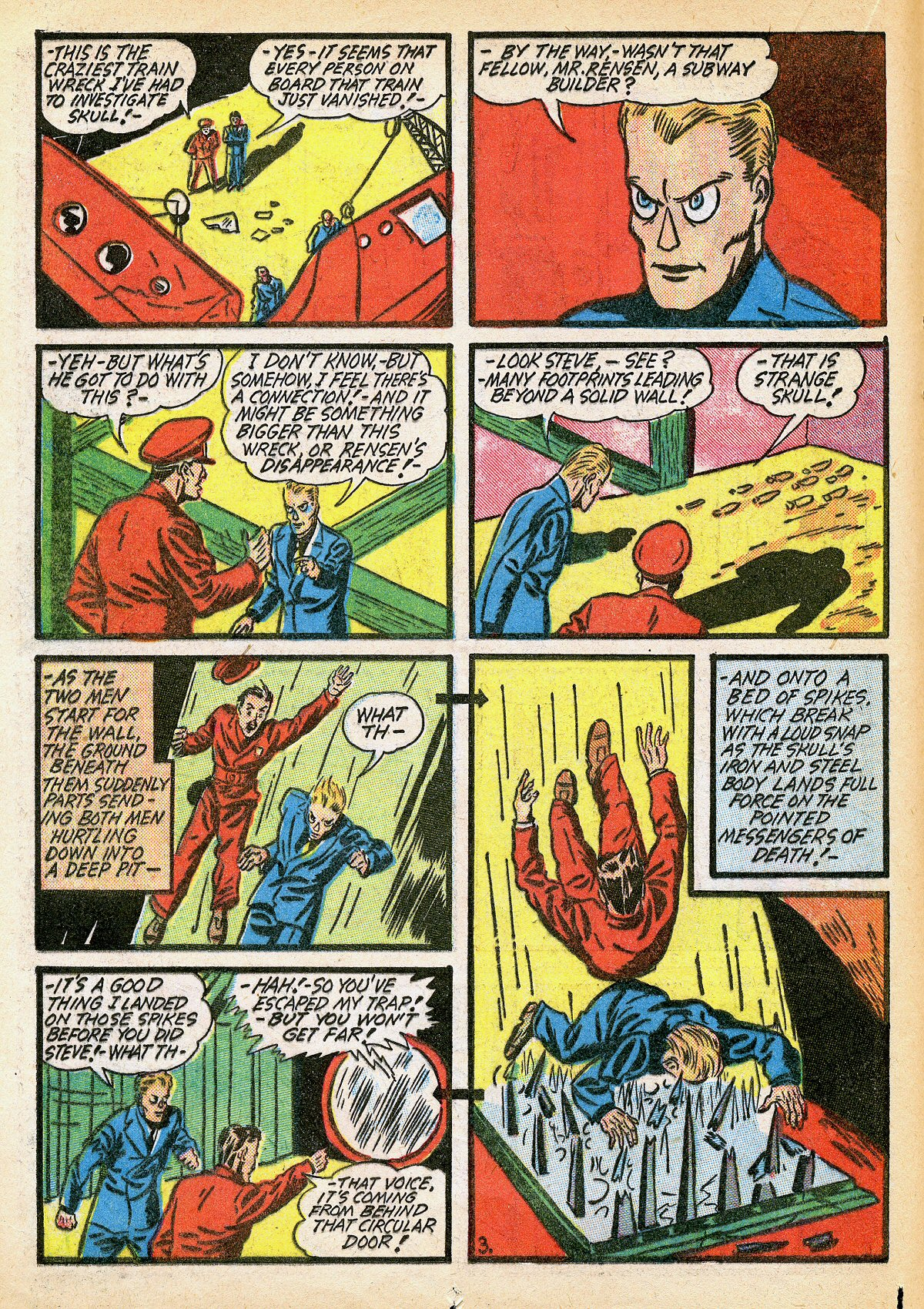 Read online Amazing Man Comics comic -  Issue #10 - 29