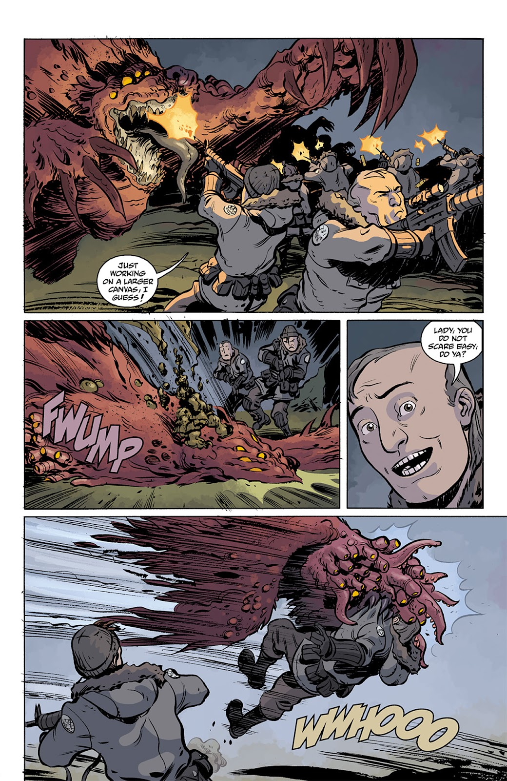 Read online B.P.R.D. Hell on Earth: The Return of the Master comic -  Issue #3 - 9