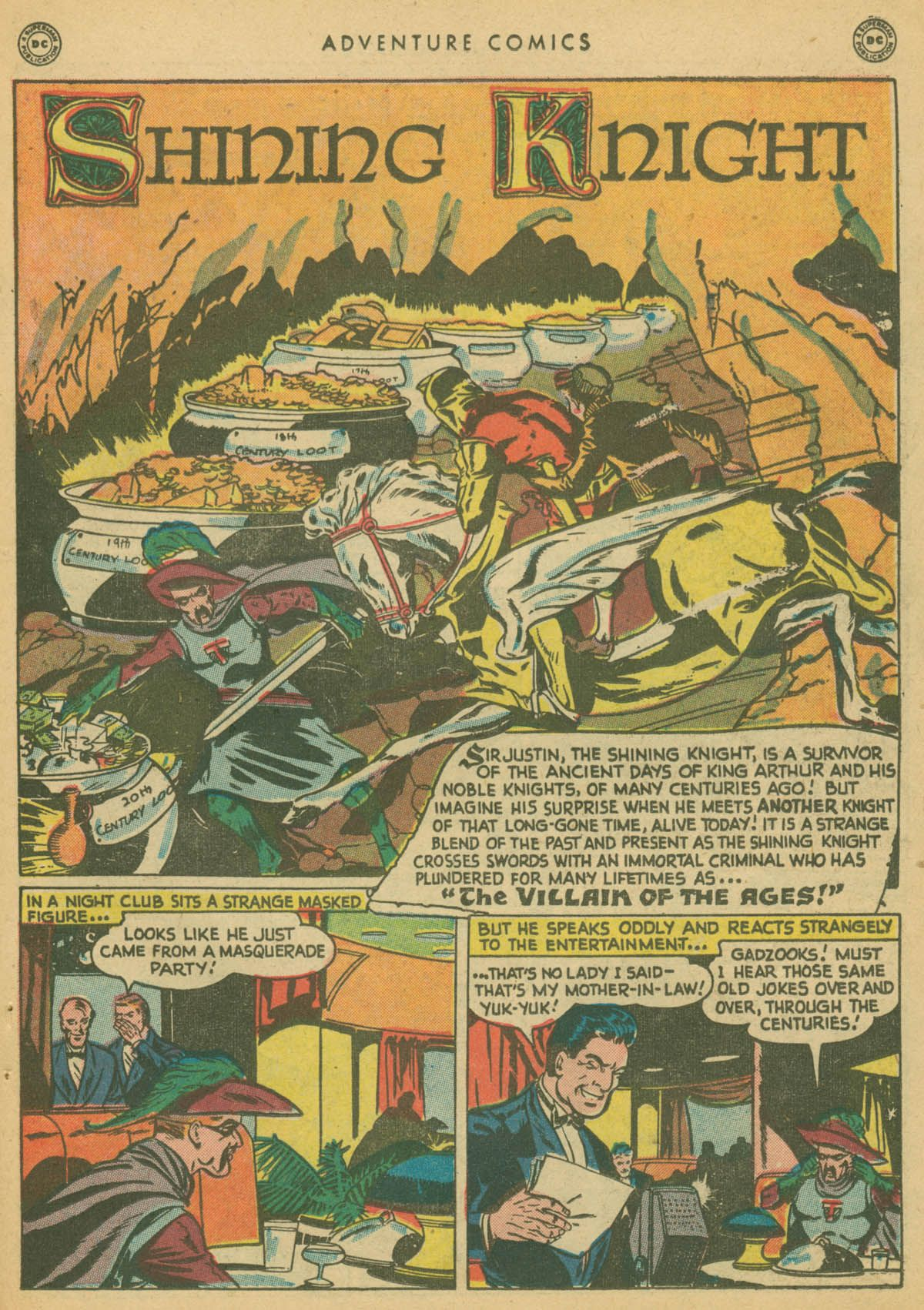 Read online Adventure Comics (1938) comic -  Issue #142 - 32