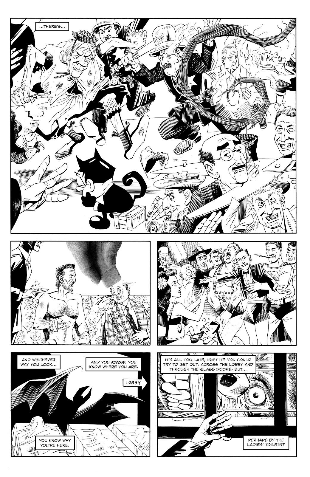 Read online Alan Moore's Cinema Purgatorio comic -  Issue #18 - 10