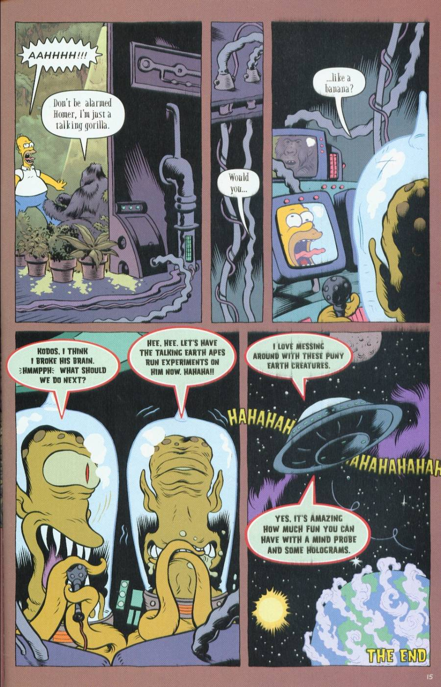 Read online Treehouse of Horror comic -  Issue #7 - 43