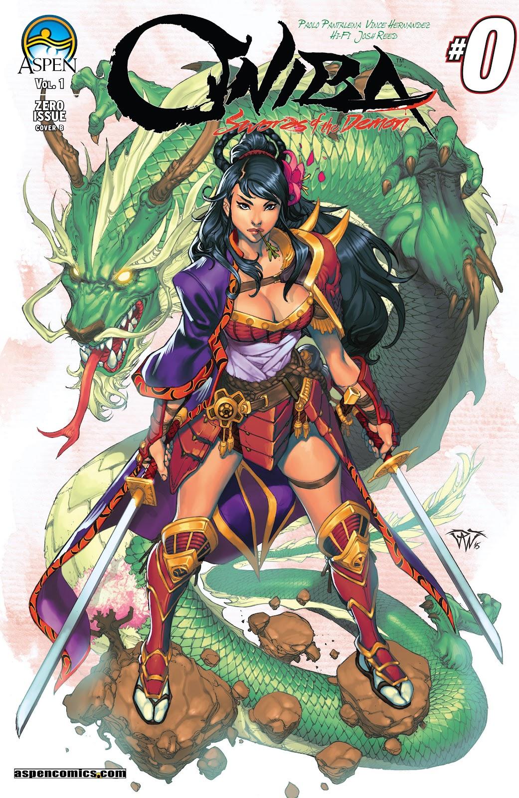 Read online Oniba: Swords of the Demon comic -  Issue # Full - 2