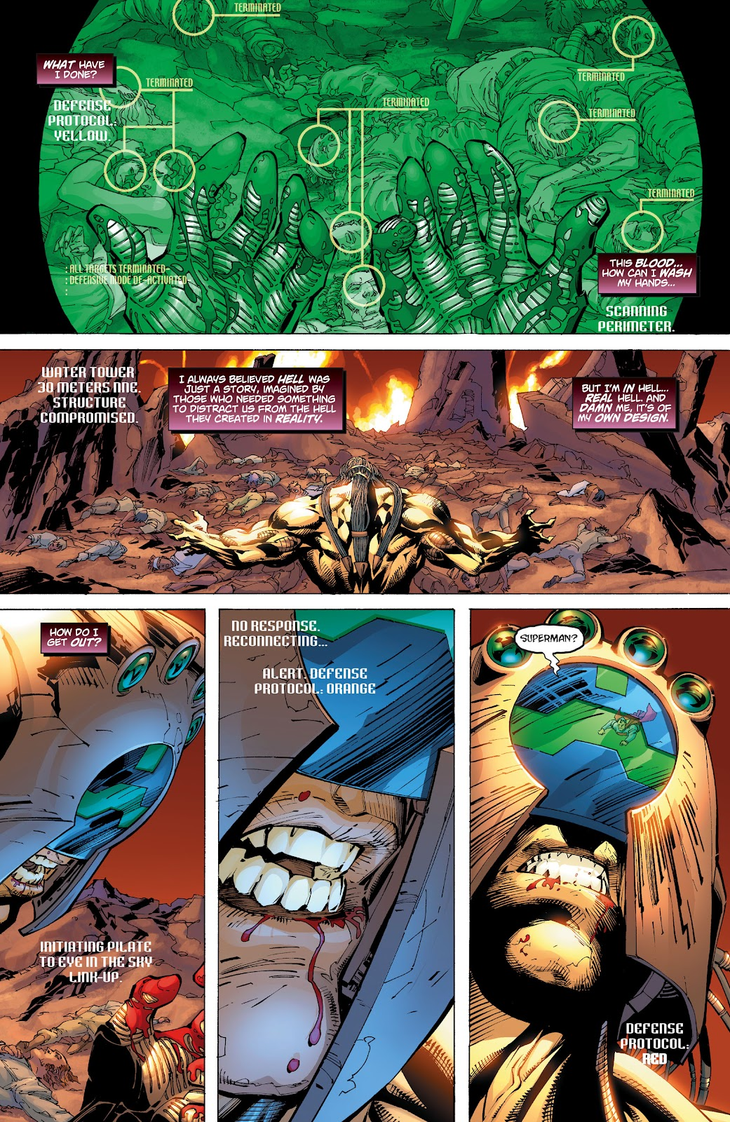 Read online Superman: For Tomorrow comic -  Issue # TPB (Part 3) - 94