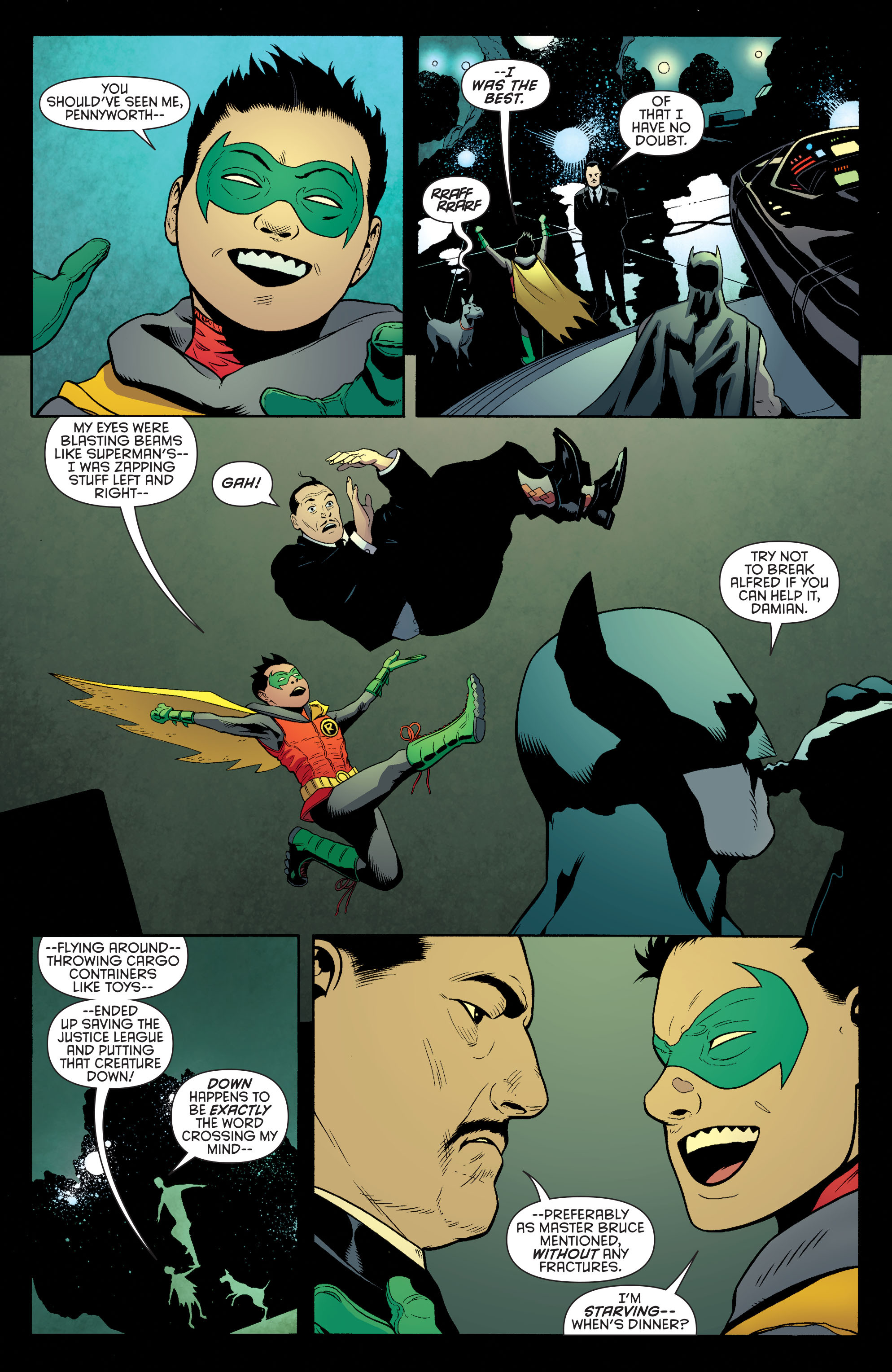 Read online Batman and Robin (2011) comic -  Issue #40 - 8