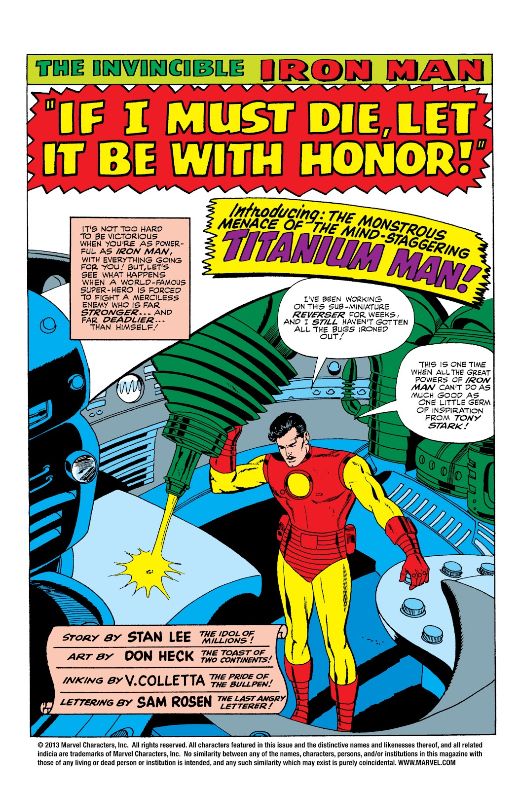 Read online Marvel Masterworks: The Invincible Iron Man comic -  Issue # TPB 3 (Part 1) - 73