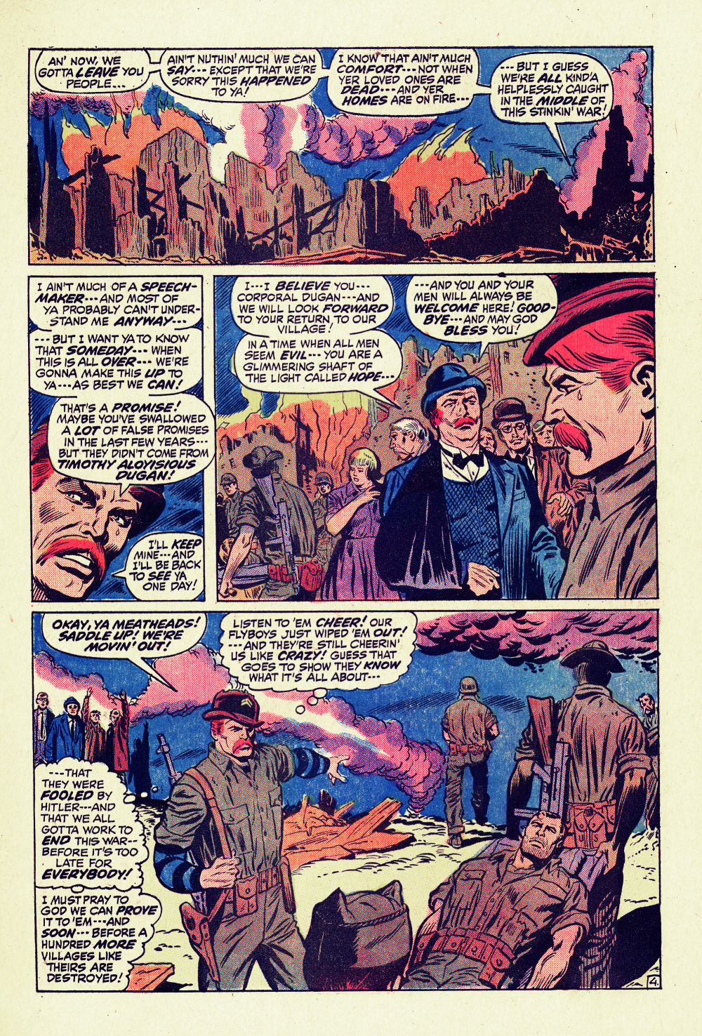 Read online Sgt. Fury comic -  Issue #96 - 7