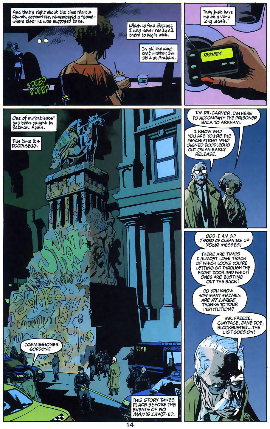 Read online Arkham Asylum: Living Hell comic -  Issue #1 - 16